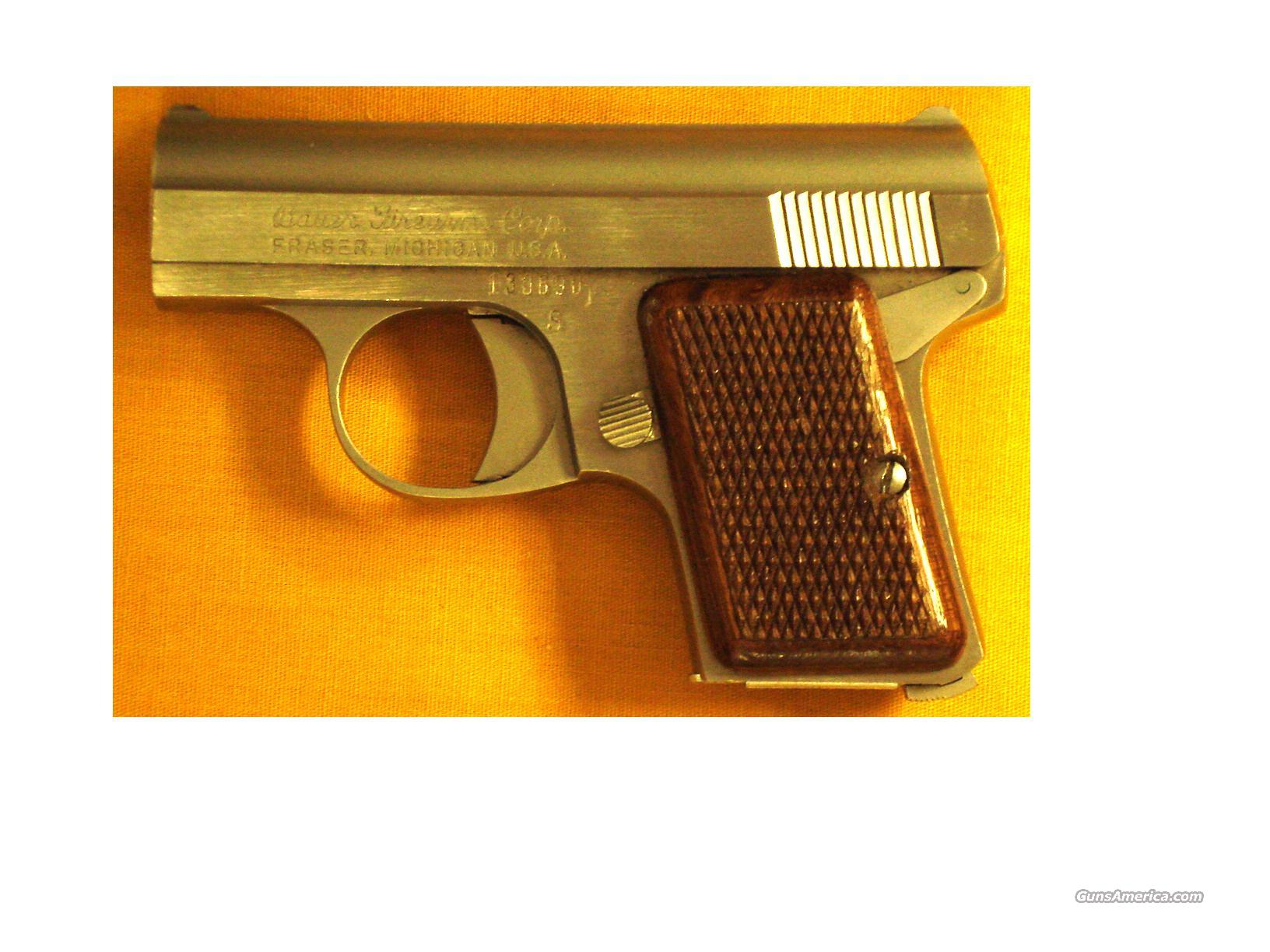 "BAUER POCKET .25ACP 2"" BARREL  Guns > Pistols > Bauer Pistols"