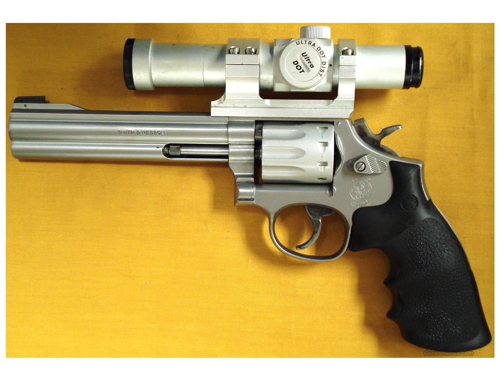 "S&W 617-2 .22LR 6"" BARREL  Guns > Pistols > Smith & Wesson Revolvers > Full Frame Revolver"