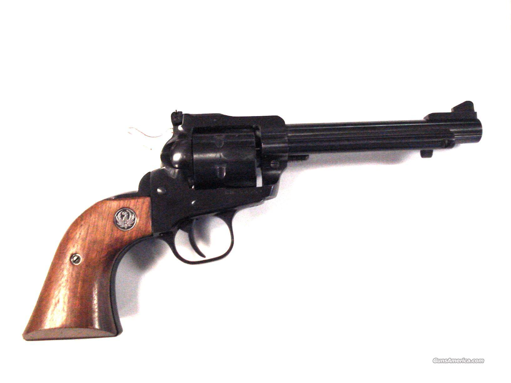 "RUGER NEW MODEL SINGLE SIX 5.5"" .22 SA REVOLVER  Guns > Pistols > Ruger Single Action Revolvers > Single Six Type"
