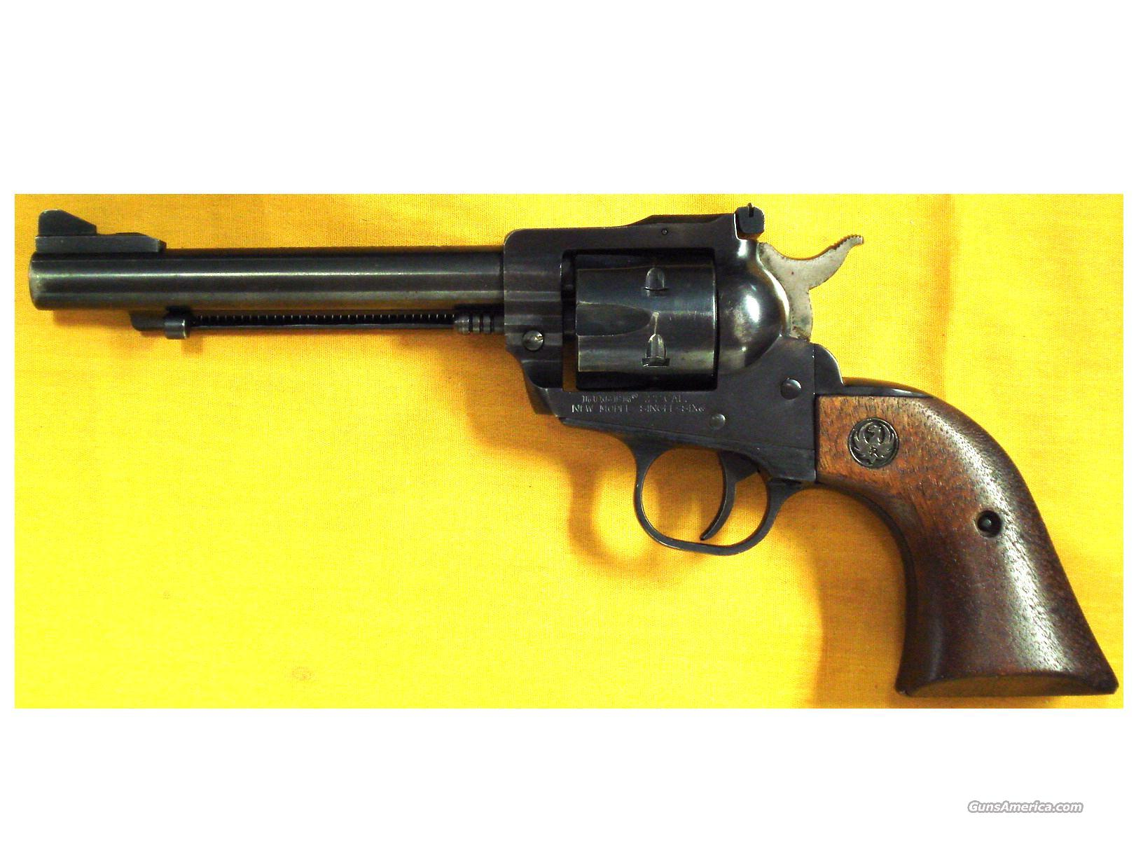 "RUGER SINGLE SIX .22LR 5 1/2"" BARREL  Guns > Pistols > Ruger Single Action Revolvers > Single Six Type"