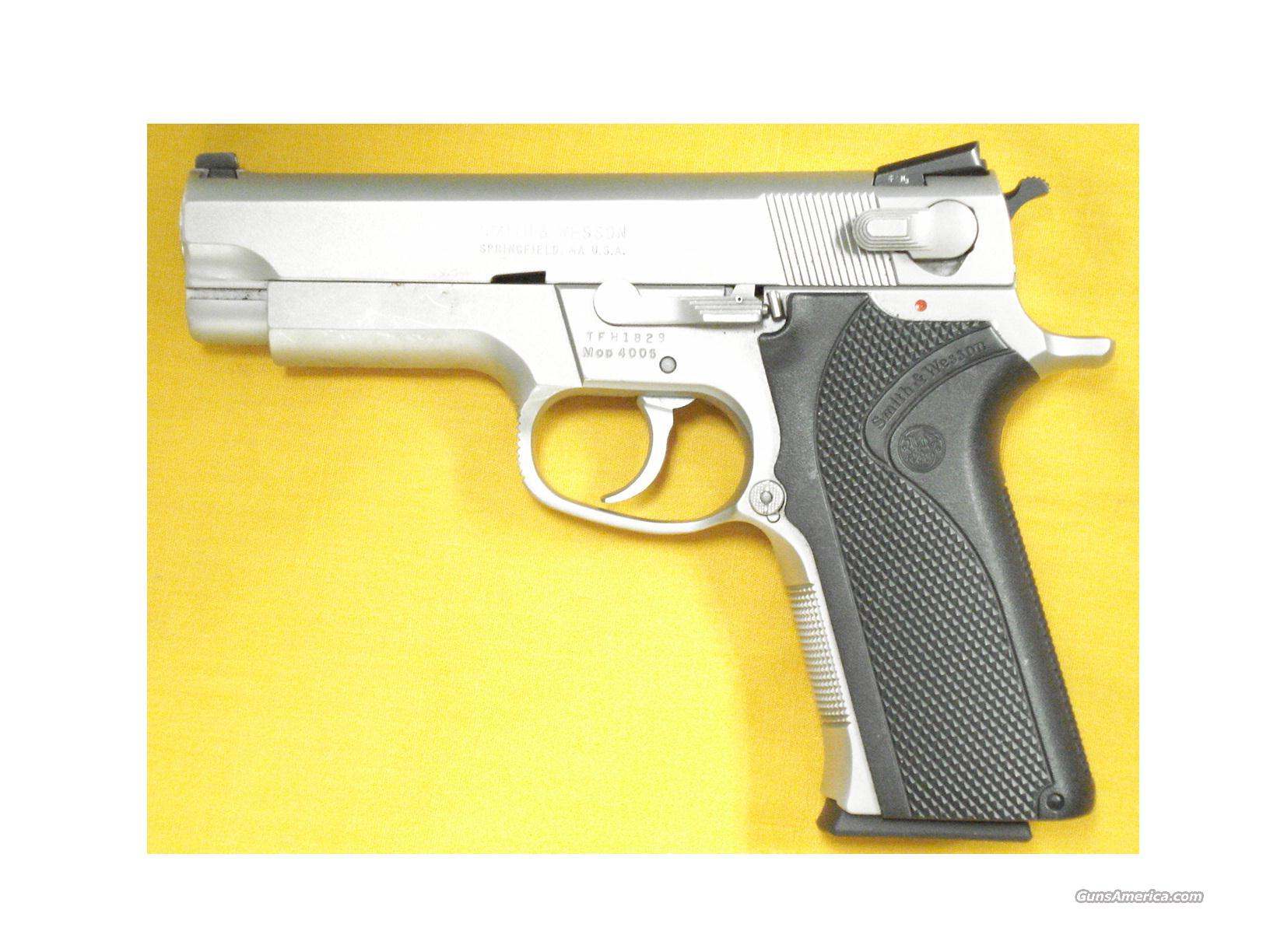 "S&W 4006 .40S&W 4""BBL  Guns > Pistols > Smith & Wesson Pistols - Autos > Steel Frame"