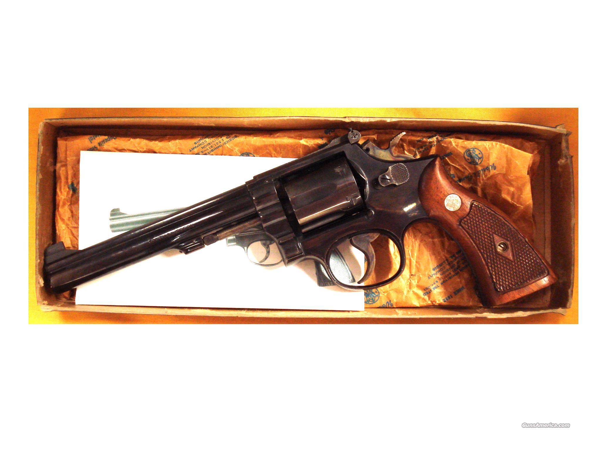 "S&W 14-2 .38SPEC. 6"" PINNED BARREL  Guns > Pistols > Smith & Wesson Revolvers > Full Frame Revolver"