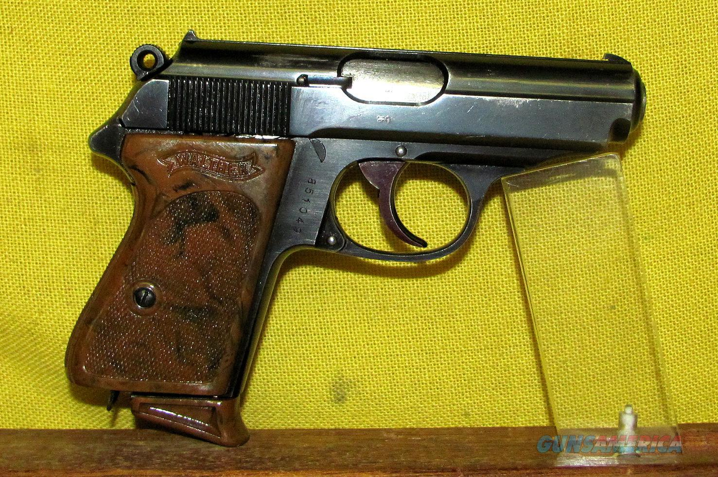 WALTHER PPK (PRE-WAR)  Guns > Pistols > Walther Pistols > Pre-1945 > PPK