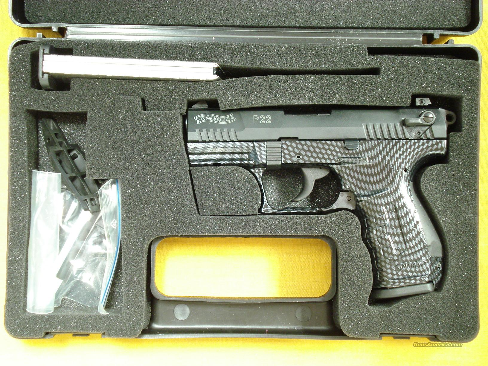 "WALTHER P22 .22LR 3 1/2"" BARREL  Guns > Pistols > Walther Pistols > Post WWII > P22"