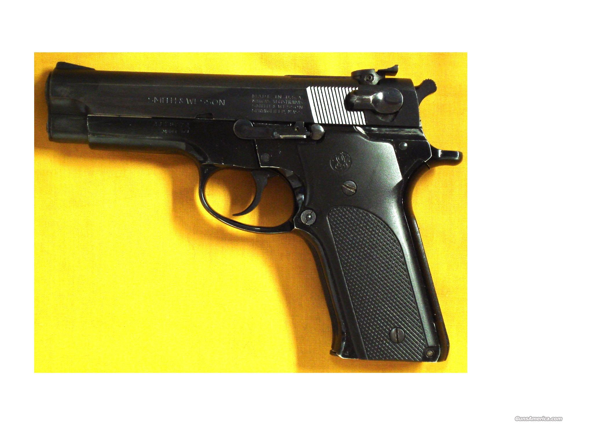 "S&W 59 9MM 4"" BARREL  Guns > Pistols > Smith & Wesson Pistols - Autos > Alloy Frame"