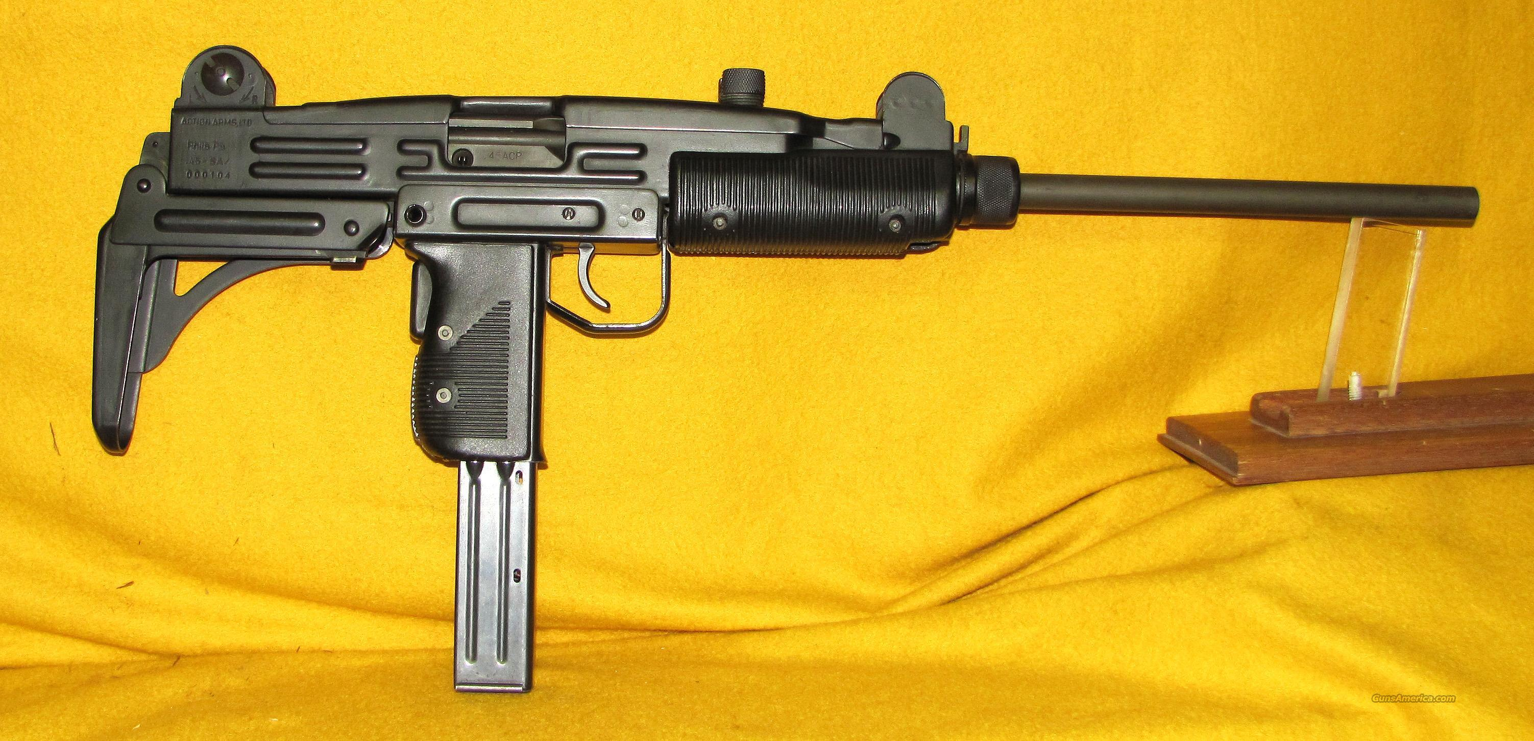 UZI  SCARCE .45ACP BY IMI CARBINE  Guns > Rifles > IMI Rifles