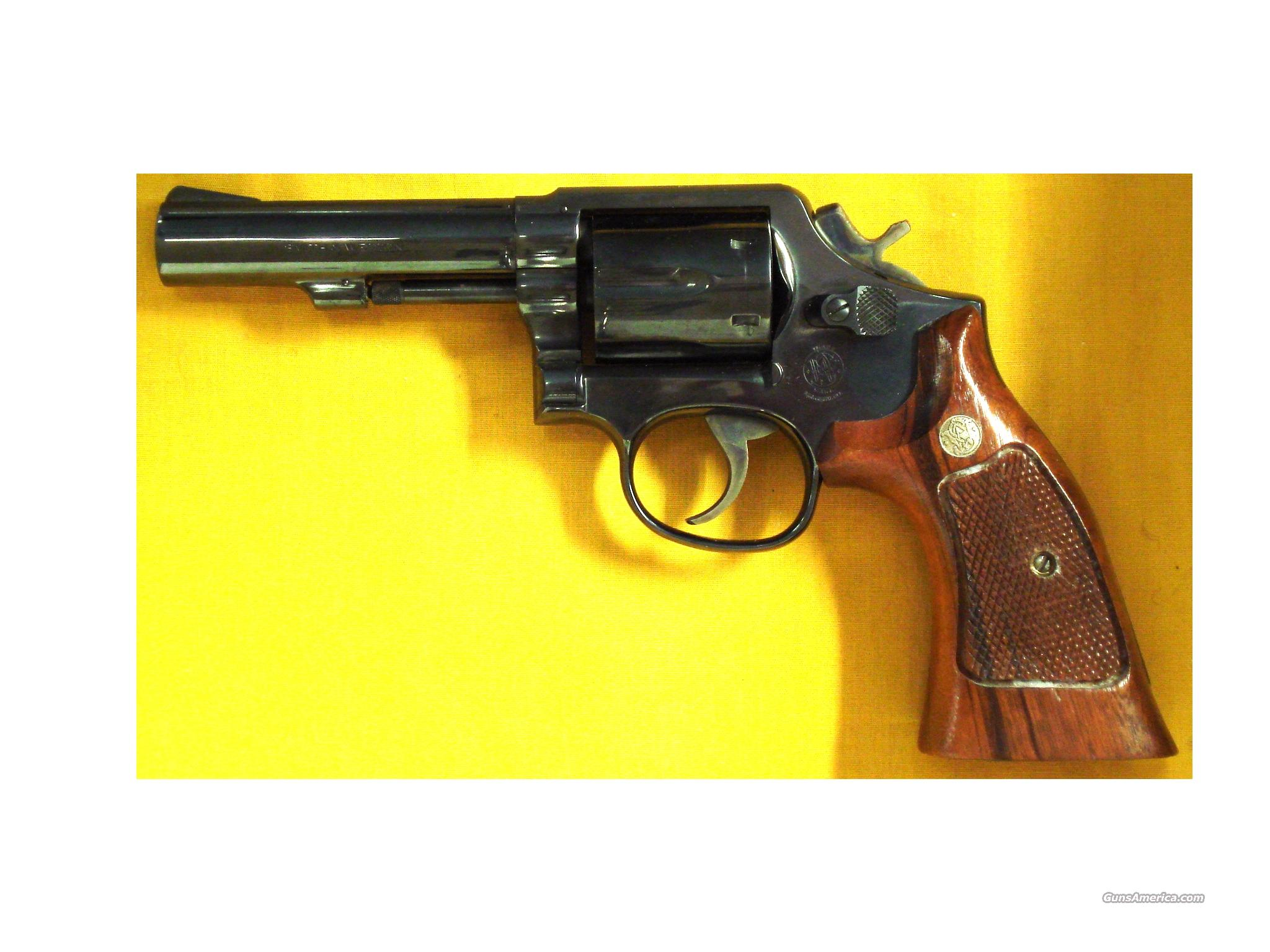 "S&W 547 9MM 4"" BARREL  Guns > Pistols > Smith & Wesson Revolvers > Full Frame Revolver"