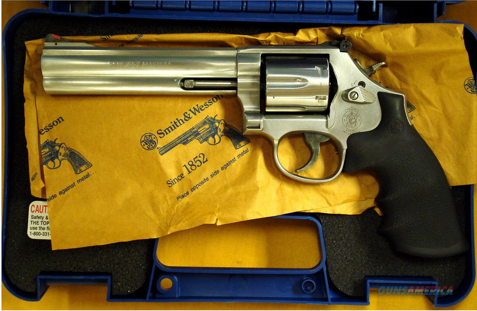 S&W 686-8  Guns > Pistols > Smith & Wesson Revolvers > Full Frame Revolver