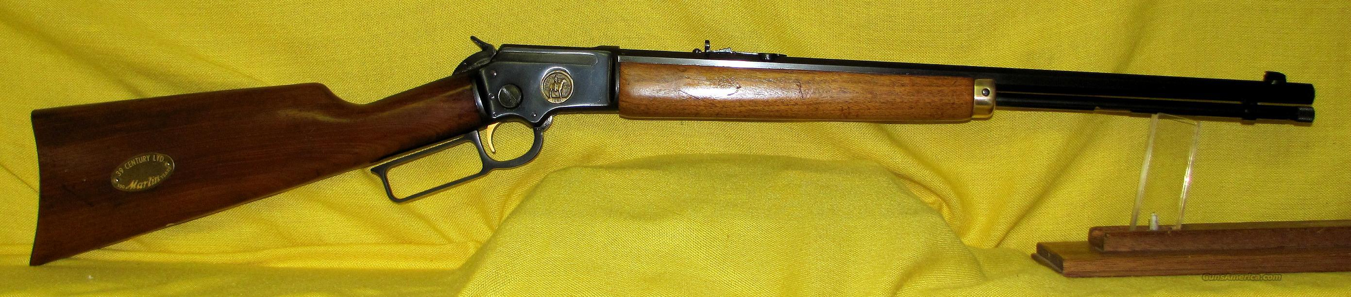 MARLIN 39 ( CENTURY LTD COMMEMORATIVE )  Guns > Rifles > Marlin Rifles > Modern > Lever Action