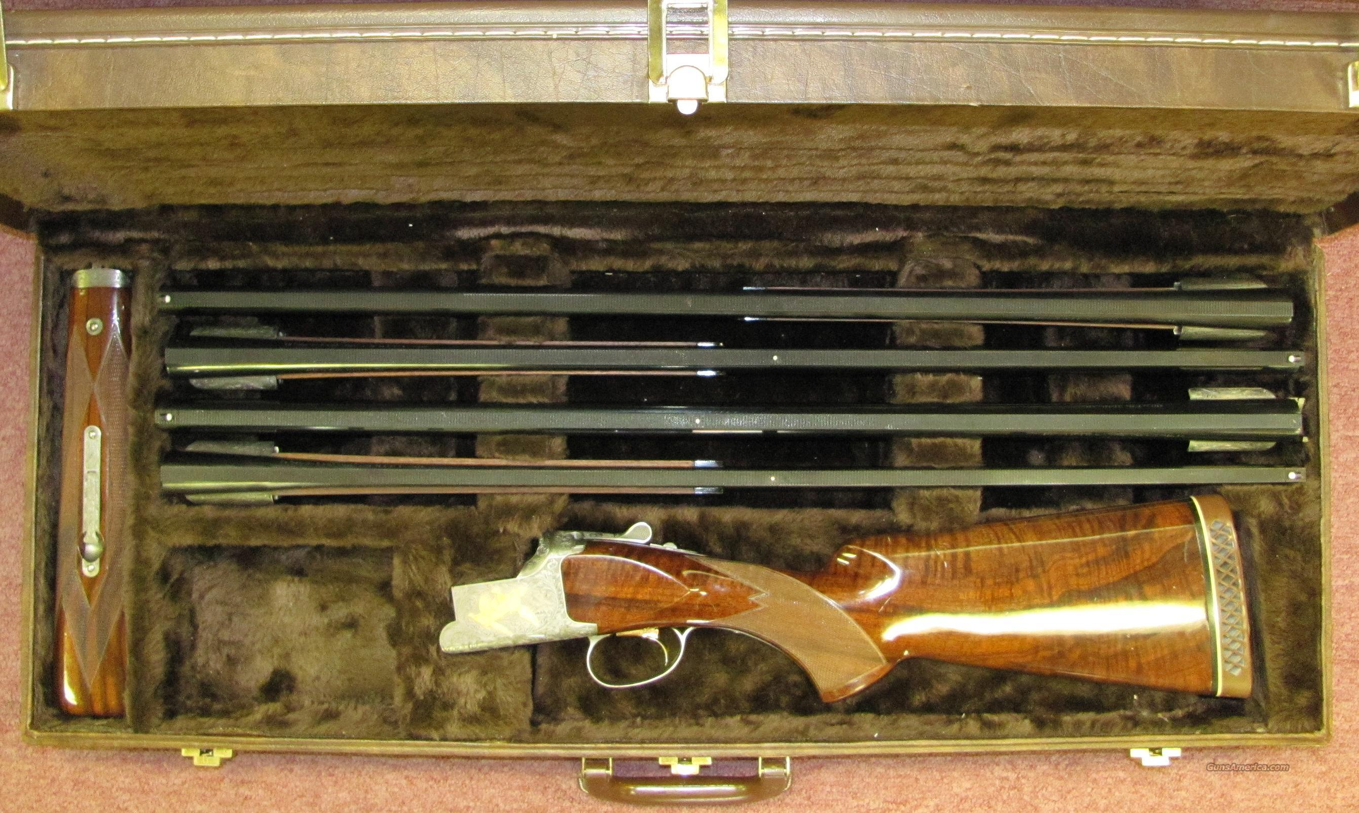 BROWNING CITORI GRADE 6 4BBL SET  Guns > Shotguns > Browning Shotguns > Over Unders > Citori > Trap/Skeet