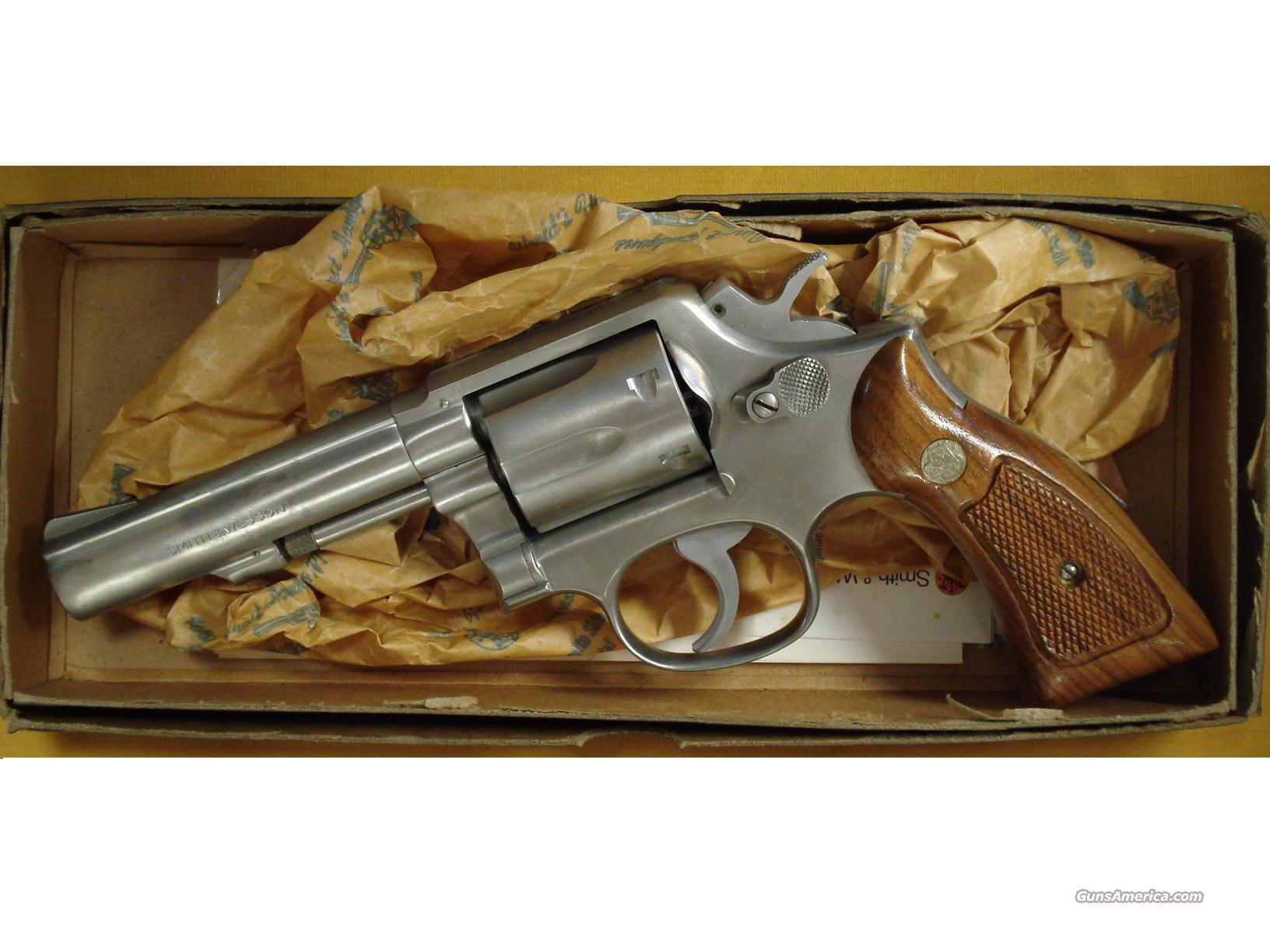 "S&W 65-2 .357 4""BBL PINNED AND RESESSED  Guns > Pistols > Smith & Wesson Revolvers > Full Frame Revolver"
