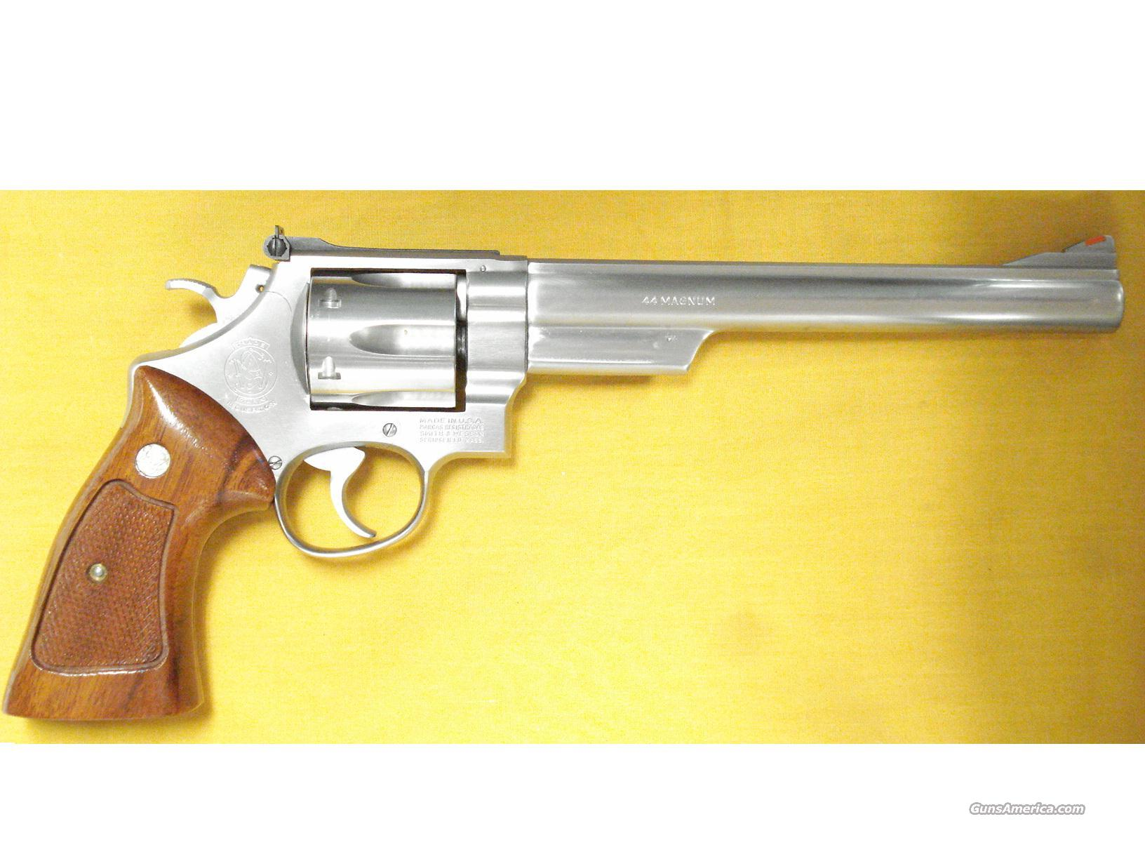 "S&W 629 .44 MAG.8 1/2"" BARREL ALL STAINLESS  Guns > Pistols > Smith & Wesson Revolvers > Model 629"