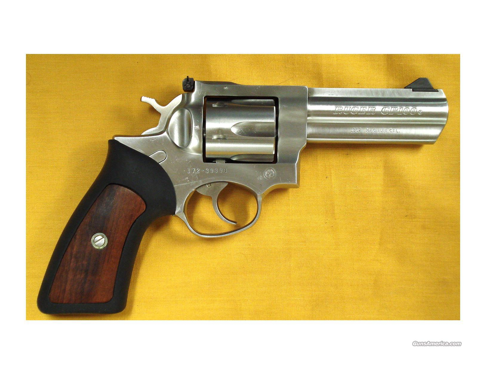 "RUGER GP100 .357MAG 4"" BARREL  Guns > Pistols > Ruger Double Action Revolver > Security Six Type"