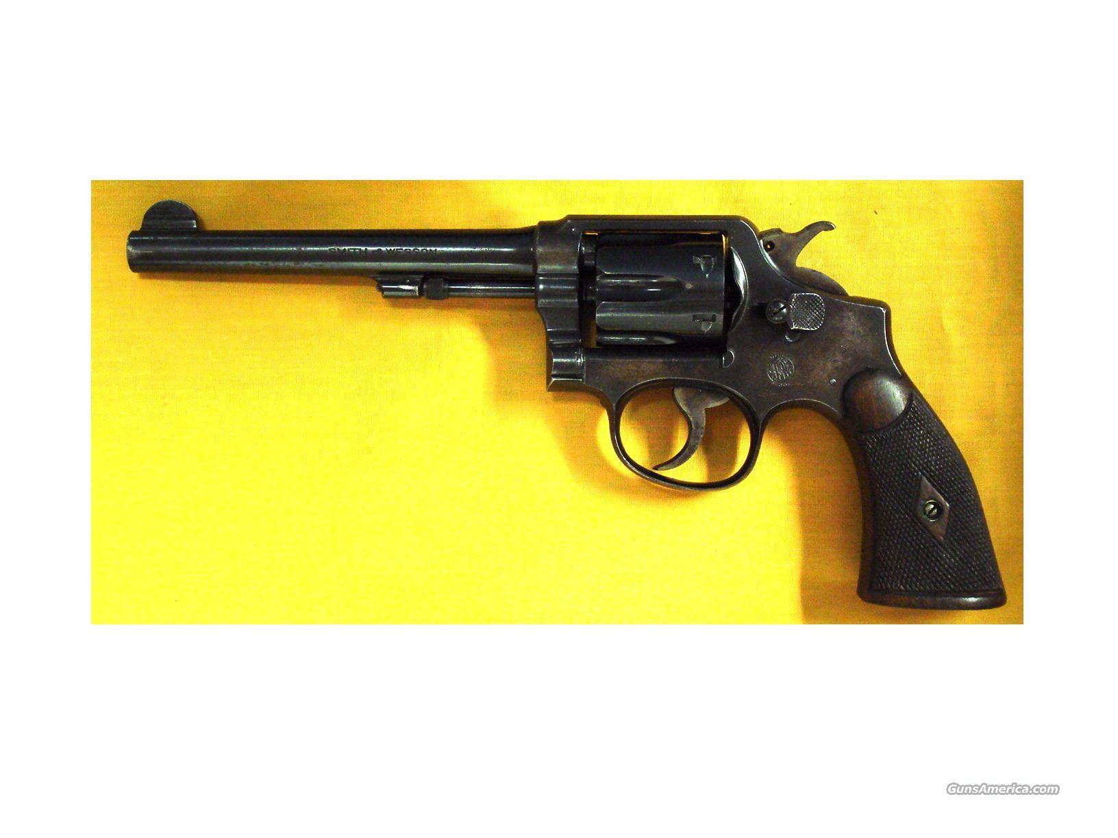 "S&W M&P .38SPEC. 6"" BARREL 5 SCREW  Guns > Pistols > Smith & Wesson Revolvers > Full Frame Revolver"