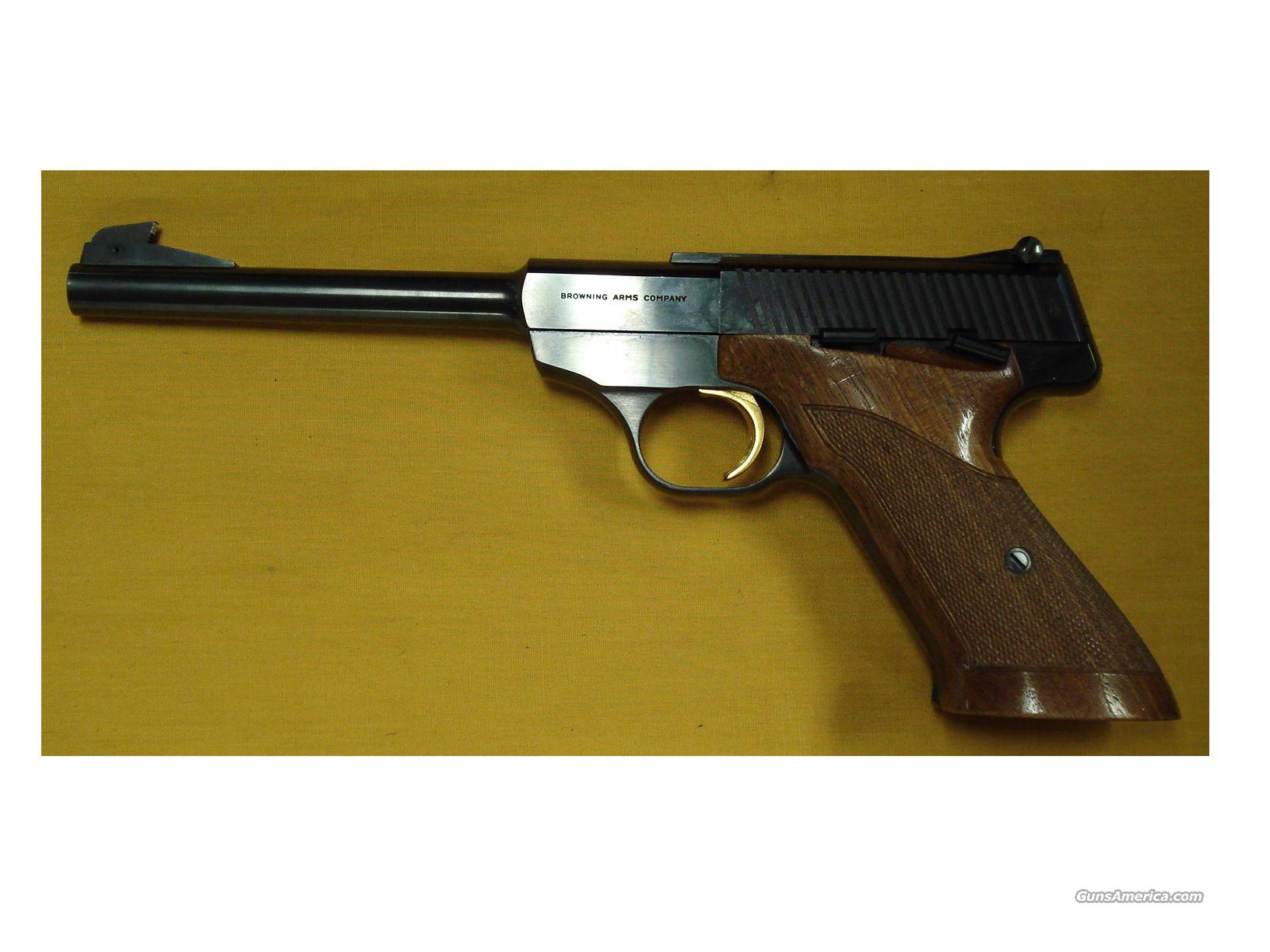 "BROWNING CHALENGER .22LR 6 3/4"" BARREL  Guns > Pistols > Browning Pistols > Other Autos"