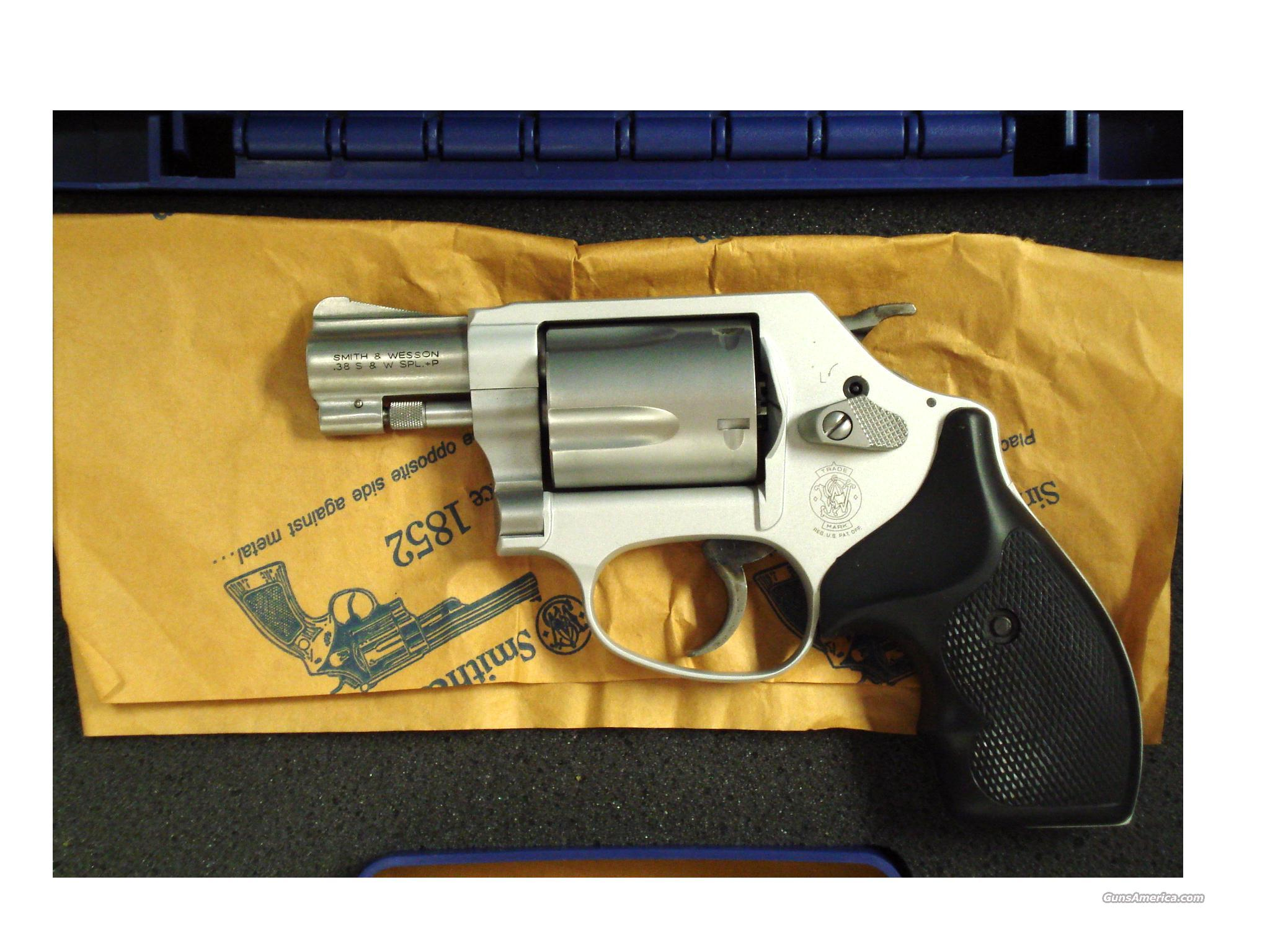 "S&W 637-2 AIRWEIGHT .38 SPEC.2""BBL   Guns > Pistols > Smith & Wesson Revolvers > Full Frame Revolver"
