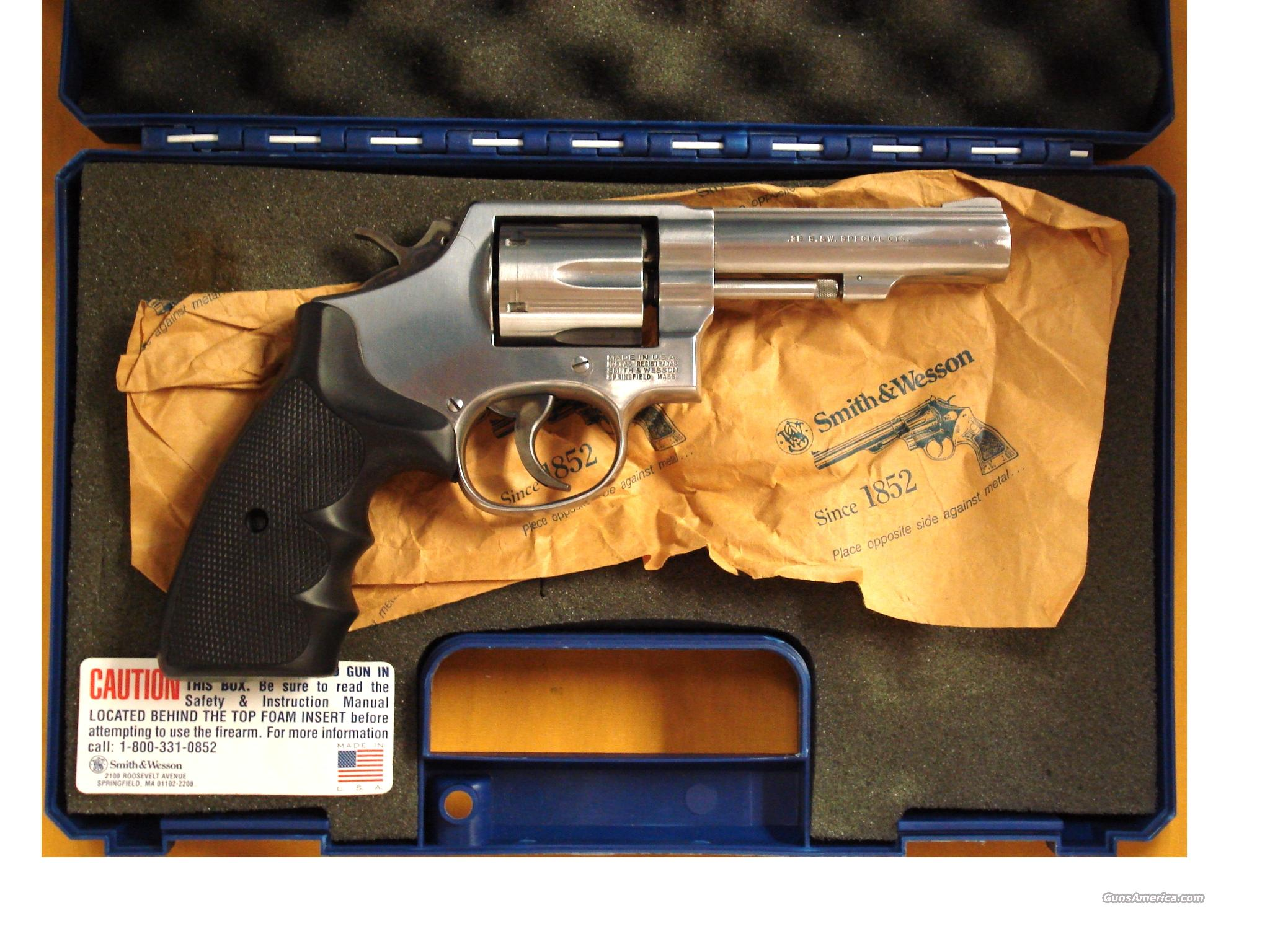 "S&W 64-5 .38 SPL 4"" BARREL  Guns > Pistols > Smith & Wesson Revolvers > Full Frame Revolver"