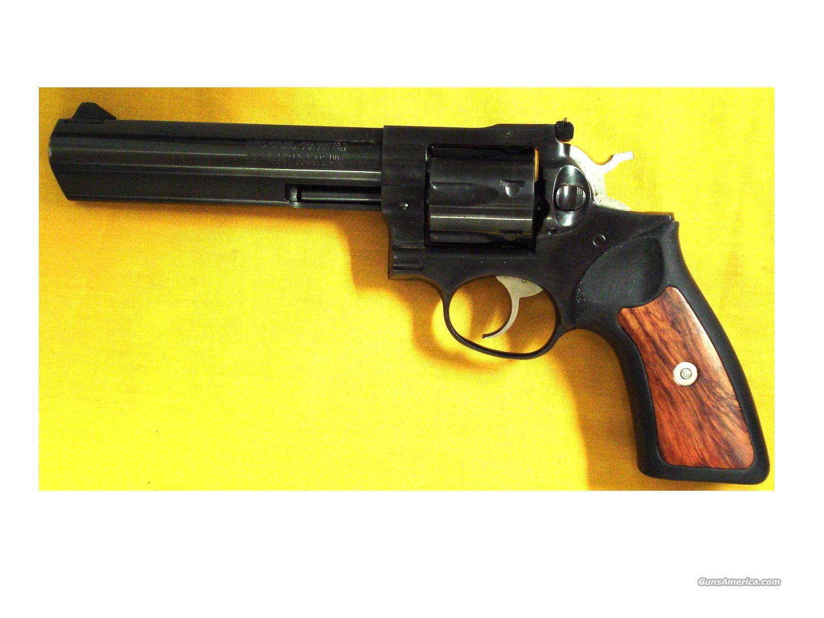 "RUGER GP-100 .357 6""BBL BLUE  Guns > Pistols > Ruger Double Action Revolver > Security Six Type"