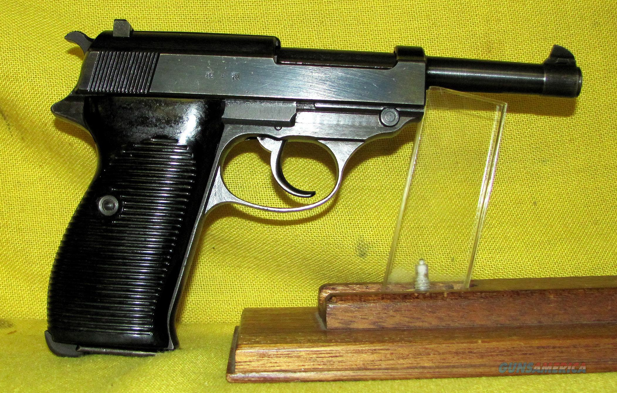 WALTHER BYF-43 (MFG BY MAUSER) P-38   Guns > Pistols > Walther Pistols > Pre-1945 > P-38