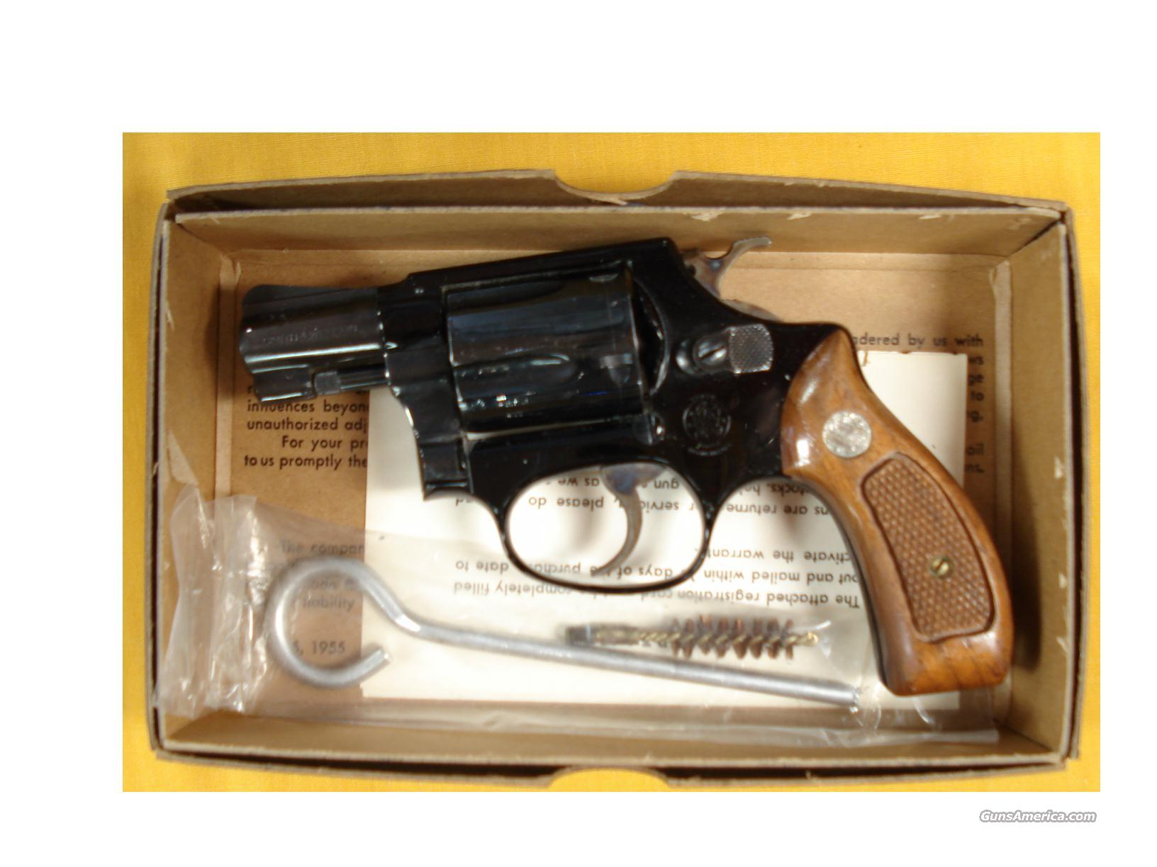 "S&W 37 .38SPL 2""BARREL IN ORIG. BOX  Guns > Pistols > Smith & Wesson Revolvers > Full Frame Revolver"