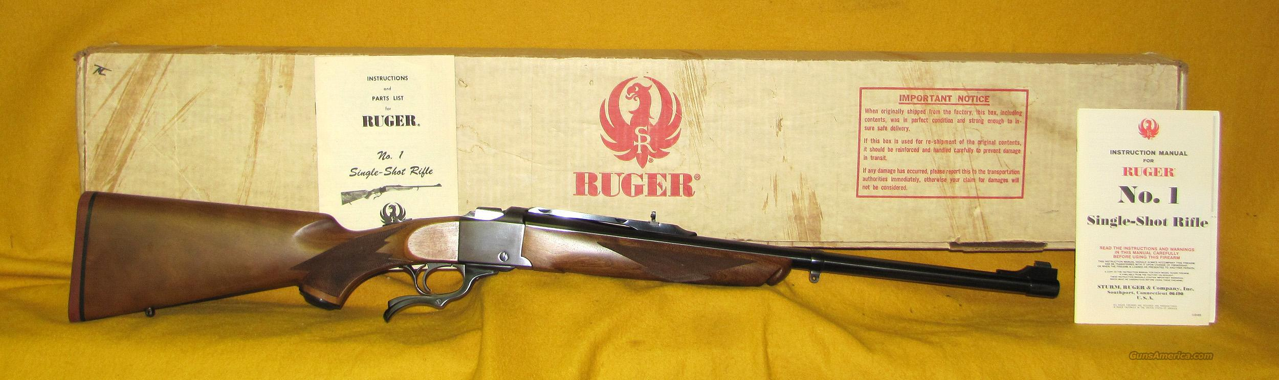RUGER NO 1S  Guns > Rifles > Ruger Rifles > #1 Type