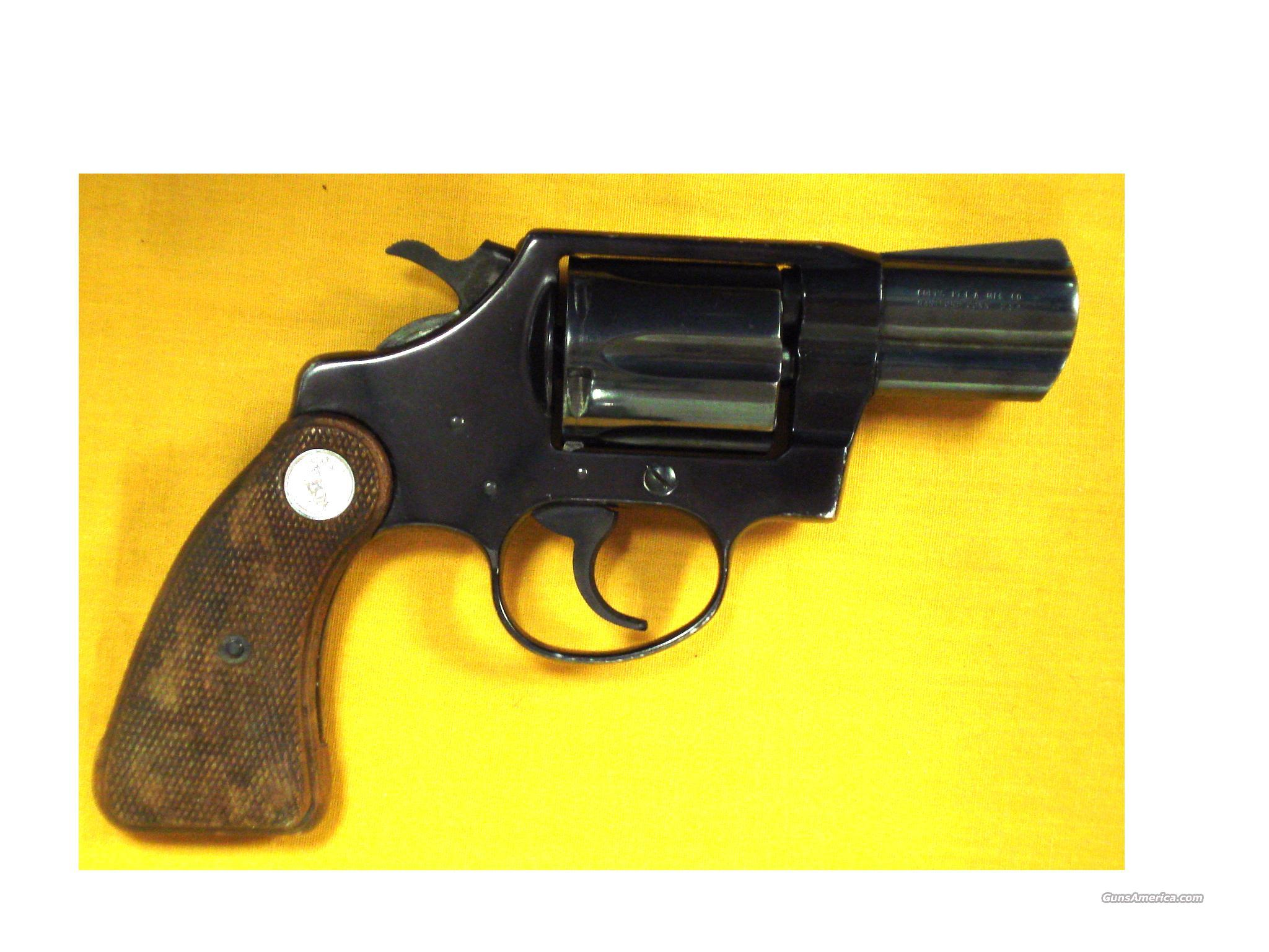 "COLT COBRA .38SPEC. 2"" BARREL  Guns > Pistols > Colt Double Action Revolvers- Modern"