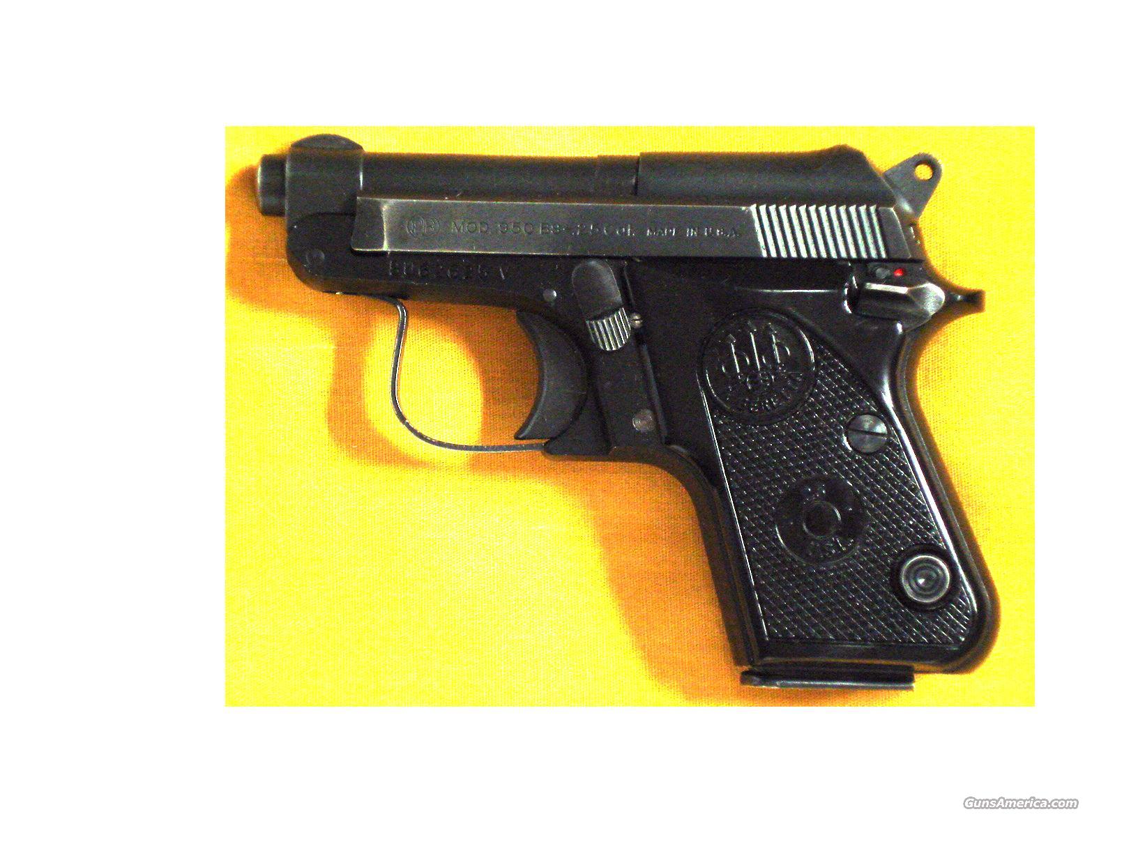 "BERETTA 950BS .25ACP 2 1/4"" BARREL  Guns > Pistols > Beretta Pistols > Small Caliber Tip Out"