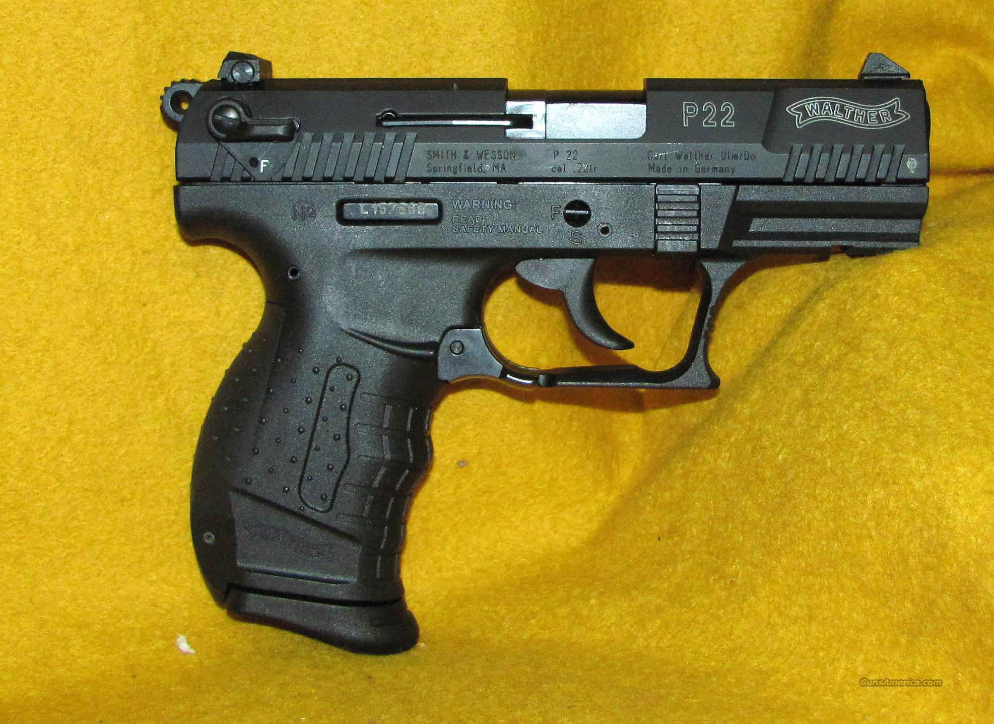WALTHER P22  Guns > Pistols > Walther Pistols > Post WWII > PP Series
