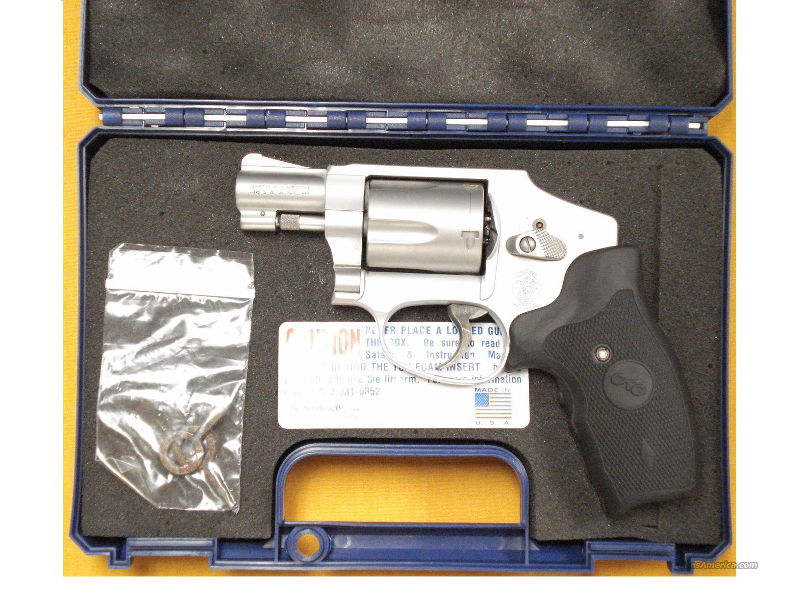 "S&W 642-2 AIRWEIGHT .38 SPL. 2""BBL LASER GRIPS  Guns > Pistols > Smith & Wesson Revolvers > Full Frame Revolver"