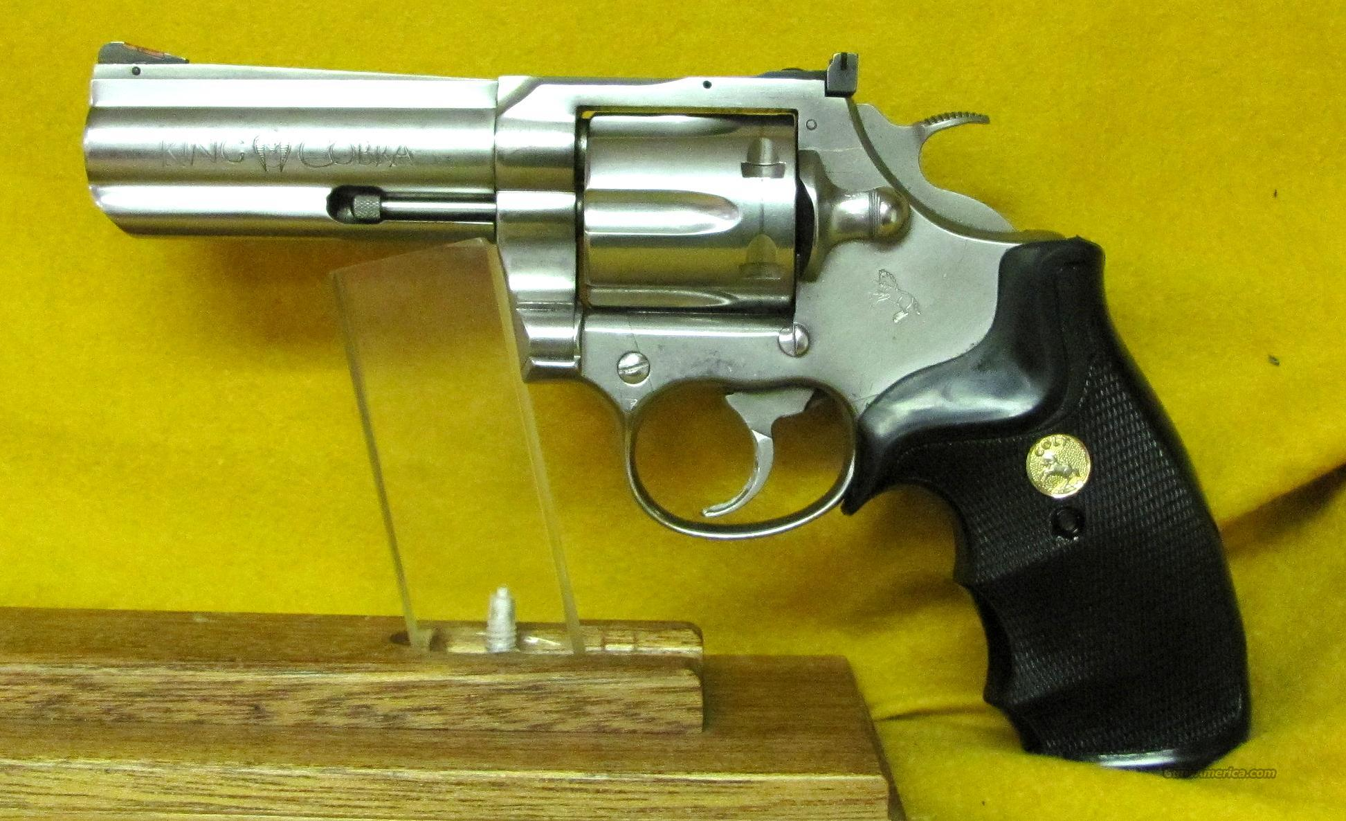 COLT KING COBRA  Guns > Pistols > Colt Double Action Revolvers- Modern