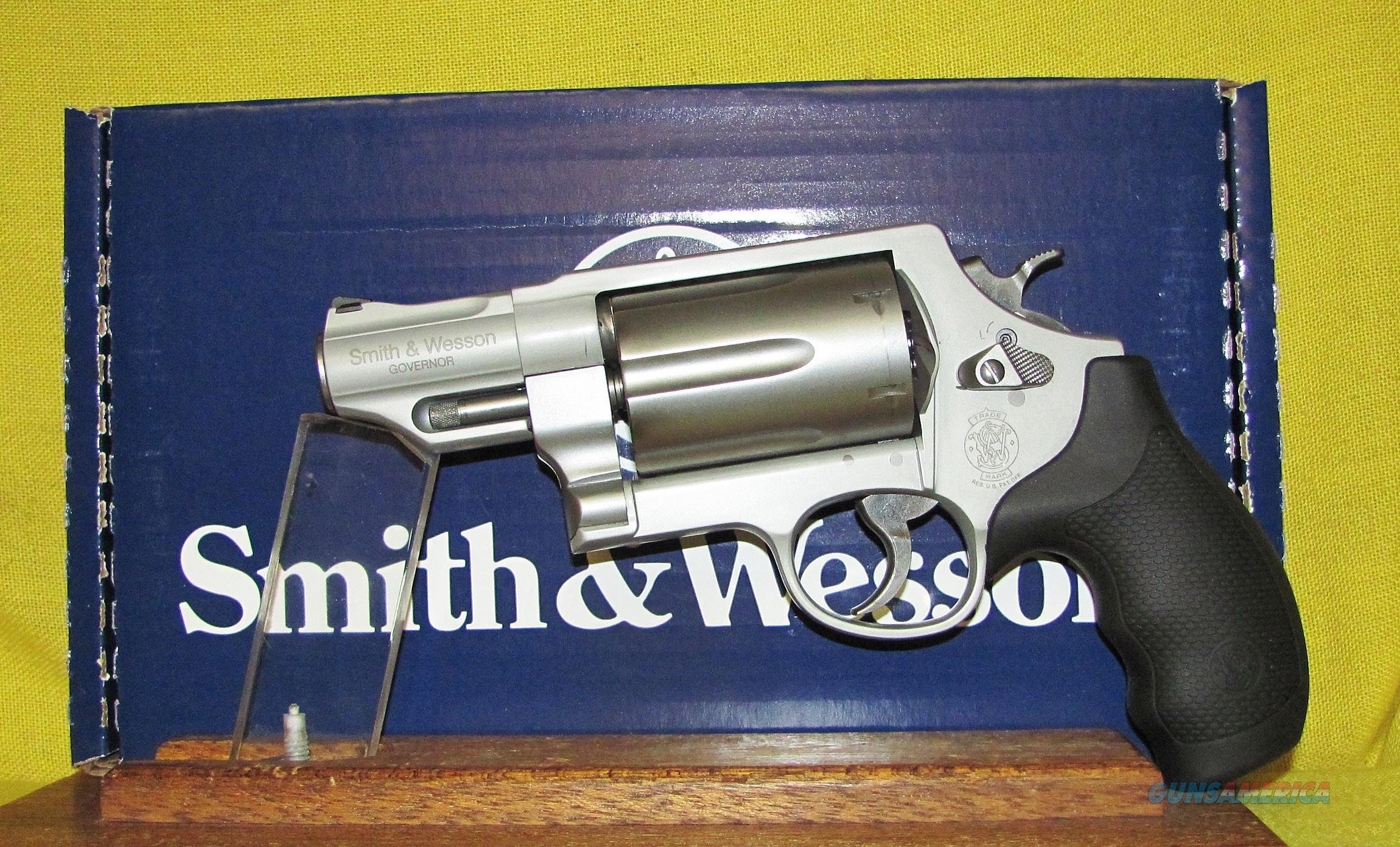 S&W GOVERNOR  Guns > Pistols > Smith & Wesson Revolvers > Full Frame Revolver