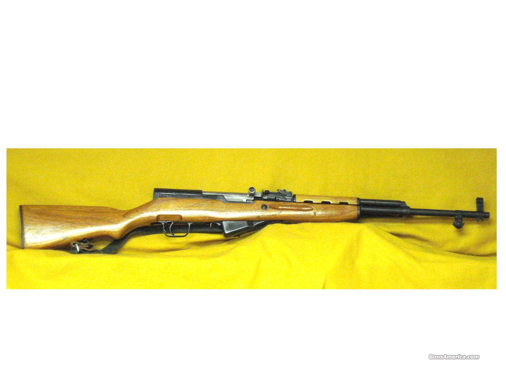 "CHI COM SKS 7.62X39 18"" BARREL  Guns > Rifles > SKS Rifles"