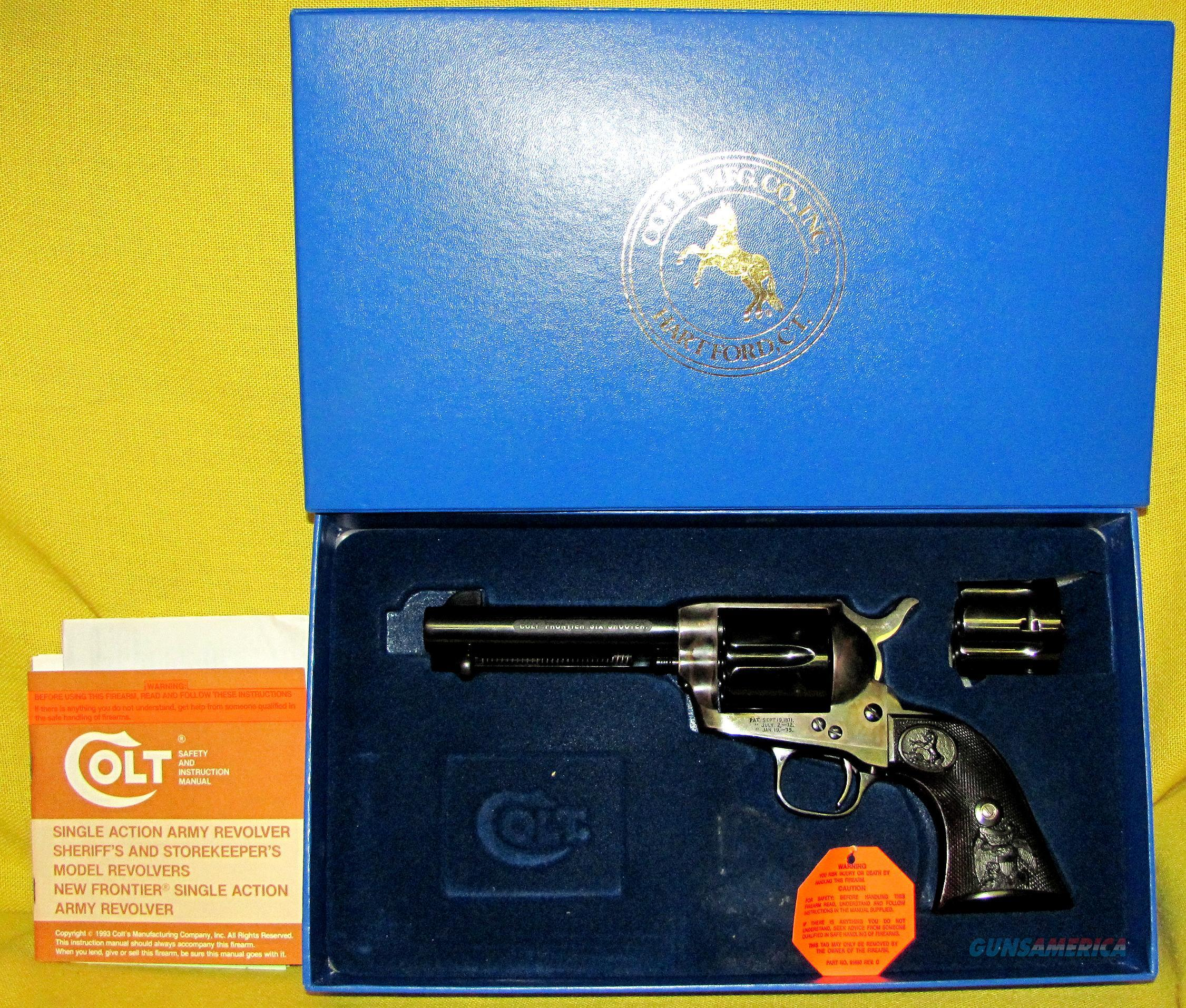COLT (CUSTOM SHOP) FRONTIER SIX SHOOTER  Guns > Pistols > Colt Single Action Revolvers - 3rd Gen.