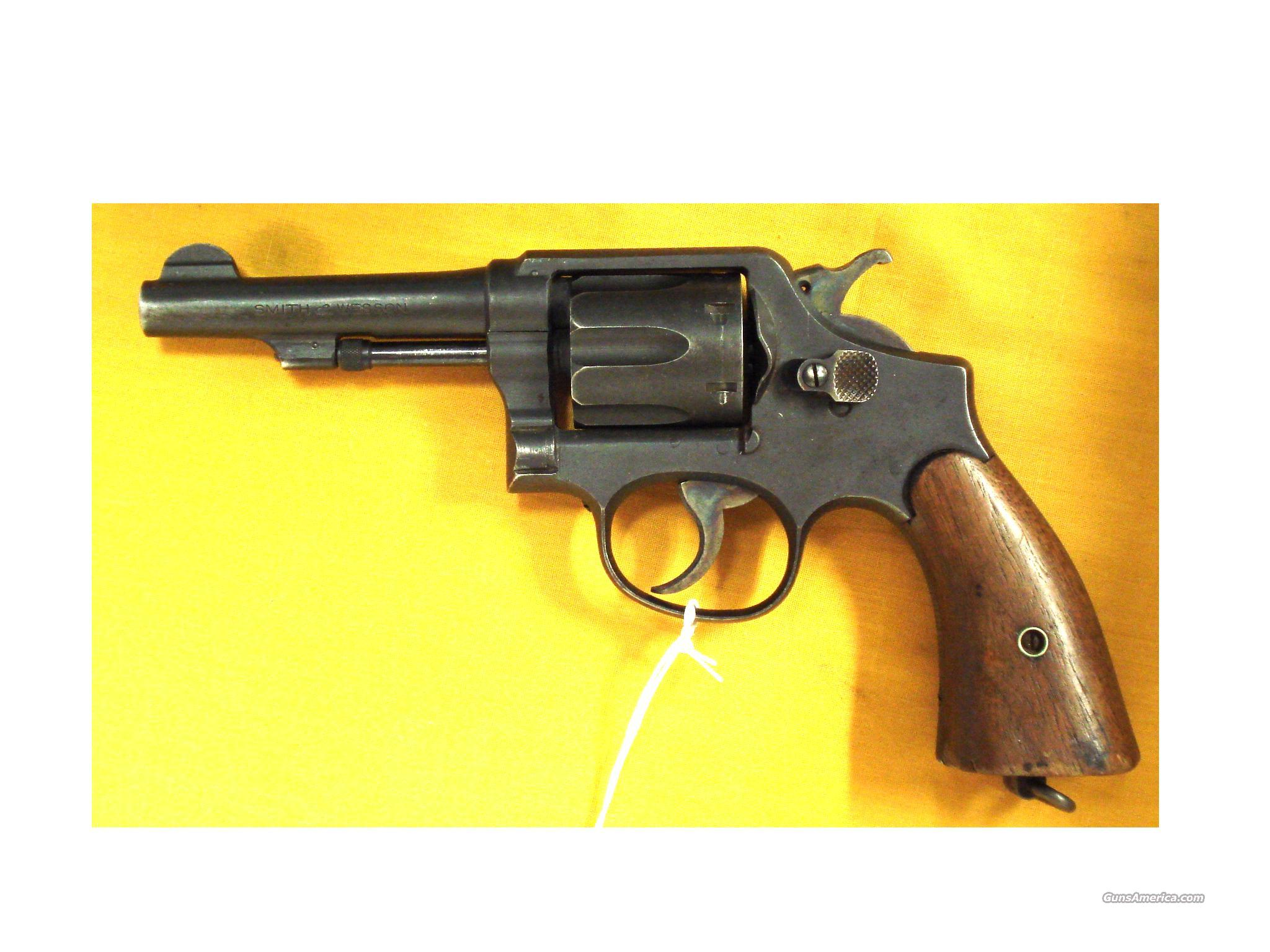 "S&W VICTORY MODEL WWII .38SPEC.4""  Guns > Pistols > Smith & Wesson Revolvers > Full Frame Revolver"