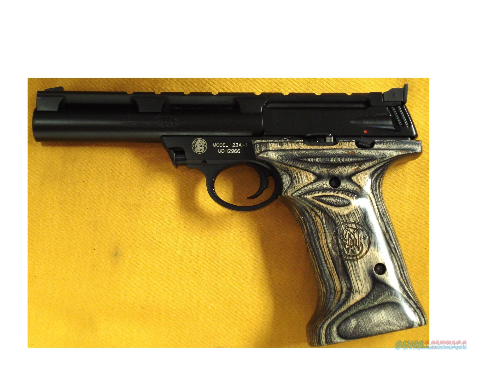 "S&W 22A1 .22LR 5 1/2"" BARREL  Guns > Pistols > Smith & Wesson Pistols - Autos > .22 Autos"