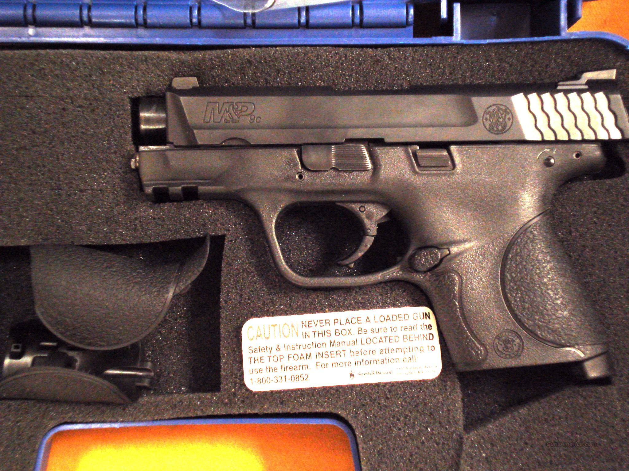 "S&W M&P 9MM 31/2"" BARREL  Guns > Pistols > Smith & Wesson Pistols - Autos > Polymer Frame"