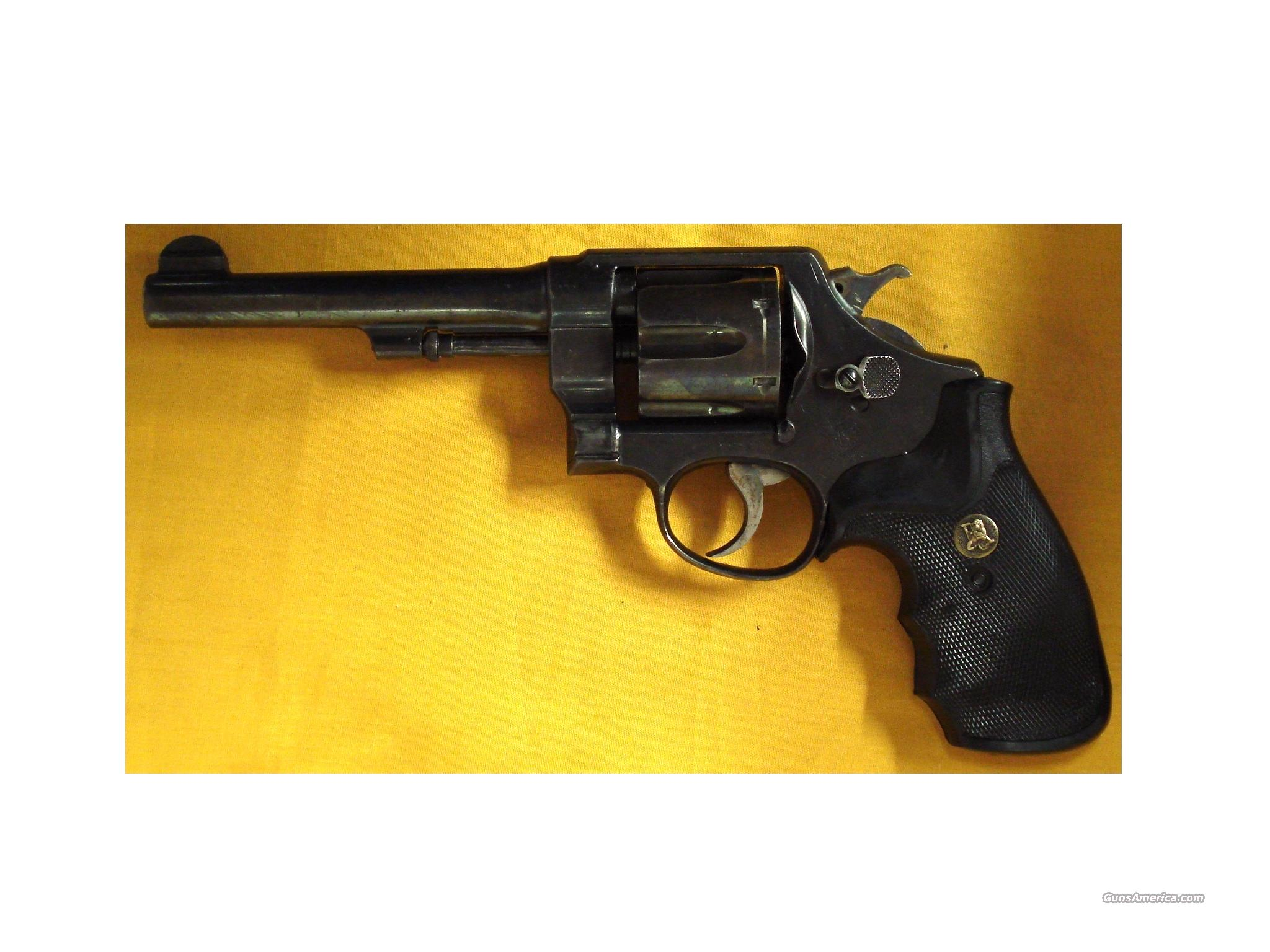 "S&W 1917 HAND EJECTOR .45ACP 5 1/2""BBL  Guns > Pistols > Smith & Wesson Revolvers > Full Frame Revolver"