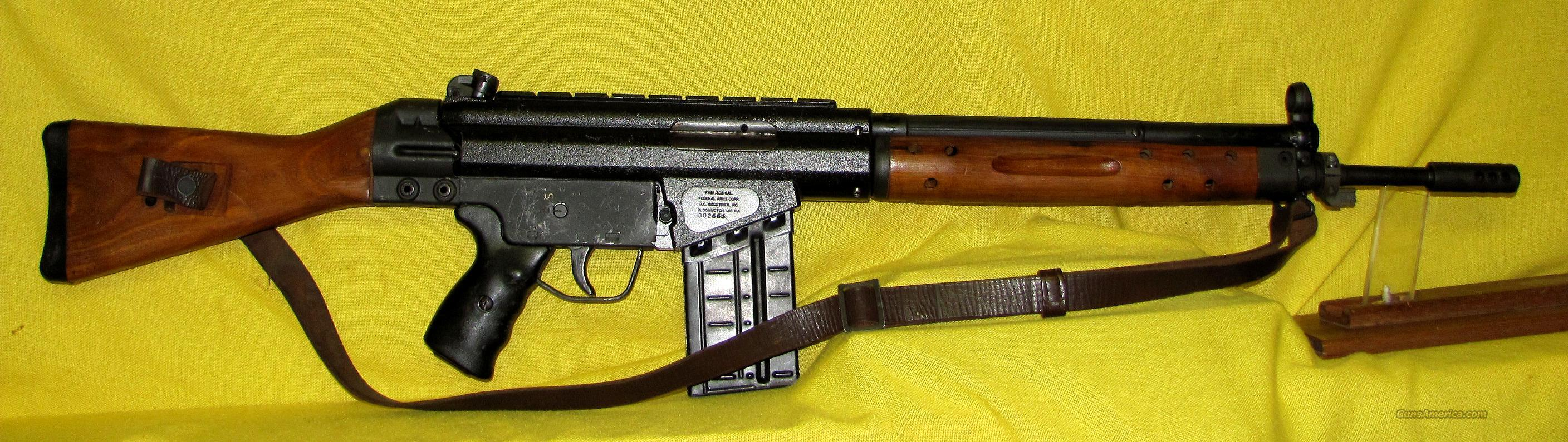 "FEDERAL ARMS FA91 .308 20"" BARREL  Guns > Rifles > F Misc Rifles"