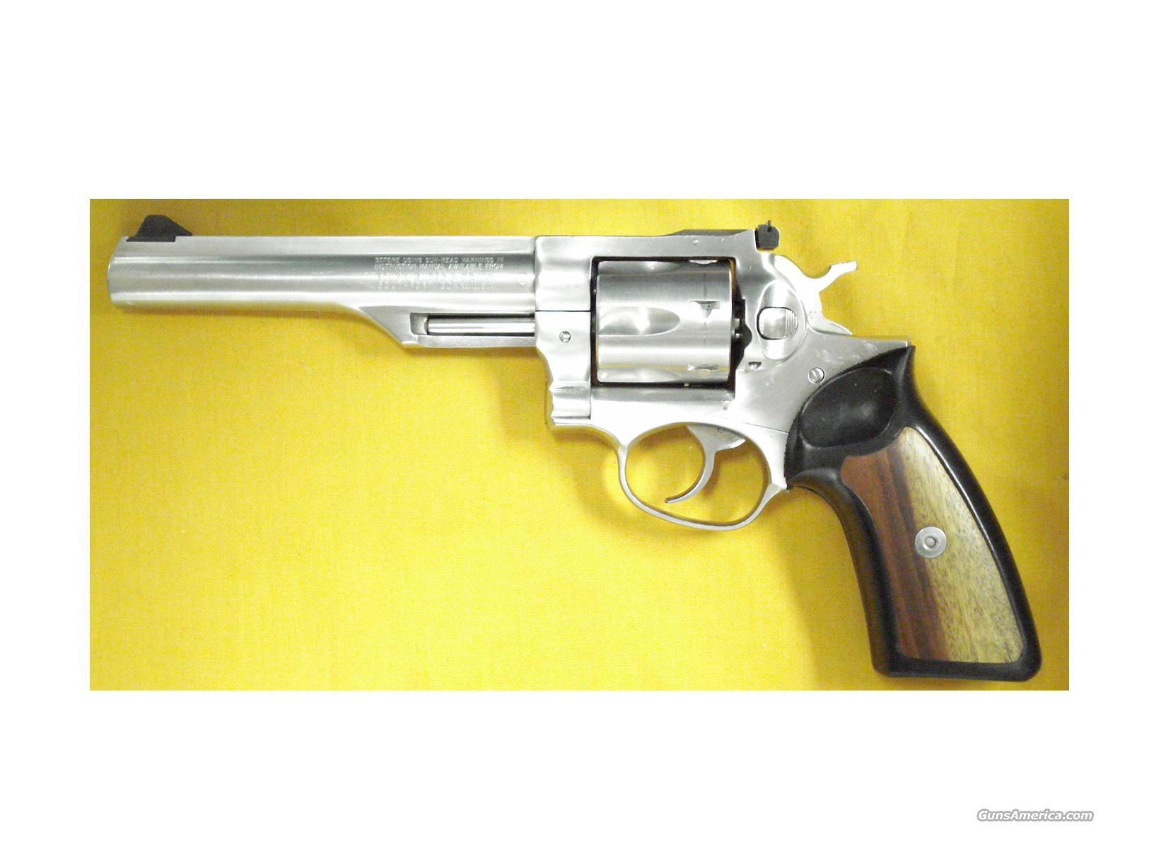 "RUGER GP-100 .357 6""BBL STAINLESS  Guns > Pistols > Ruger Double Action Revolver > Redhawk Type"