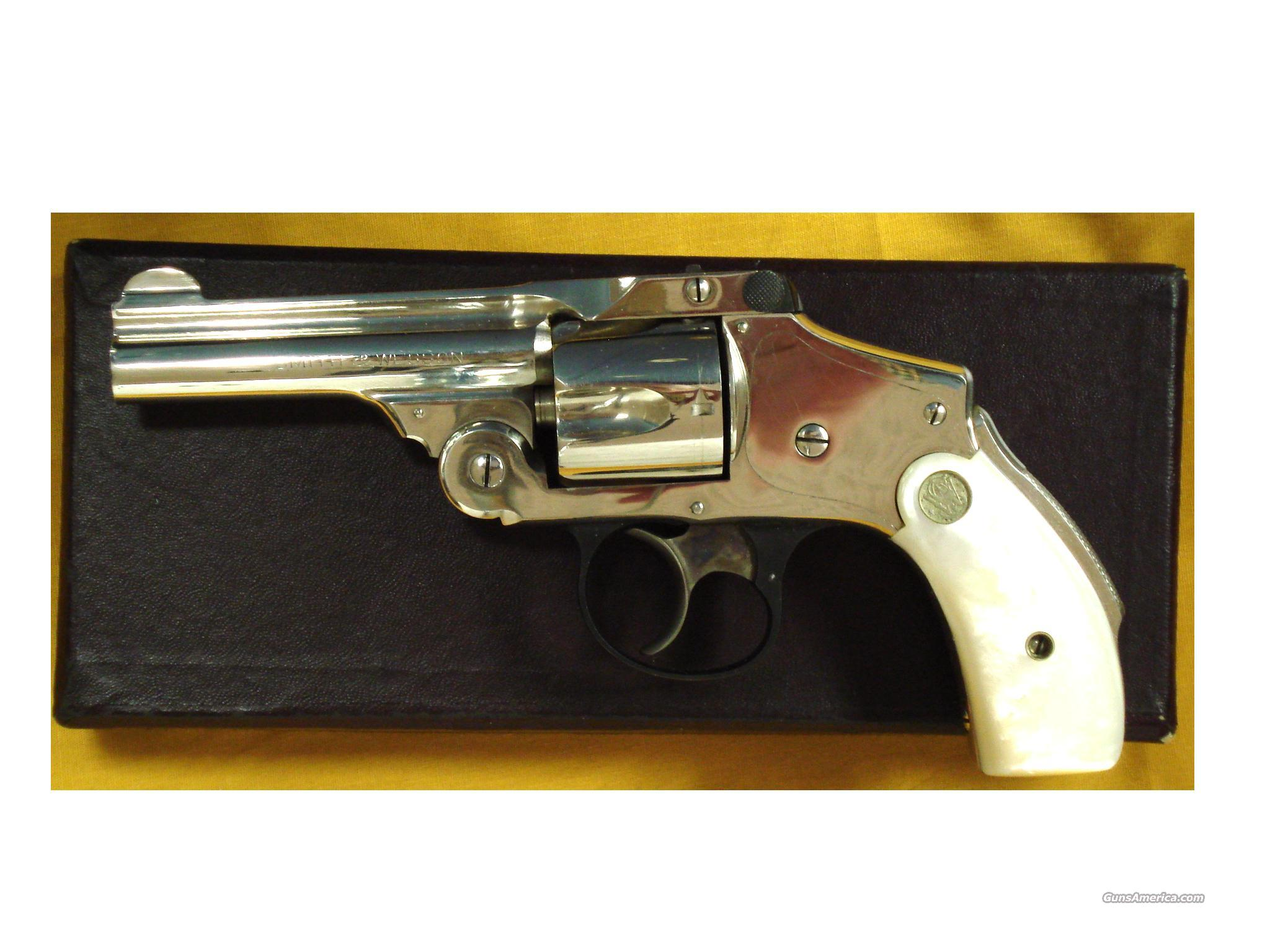 S&W SAFETY MODEL 5TH CHANGE .38S&W  Guns > Pistols > Smith & Wesson Revolvers > Pre-1945