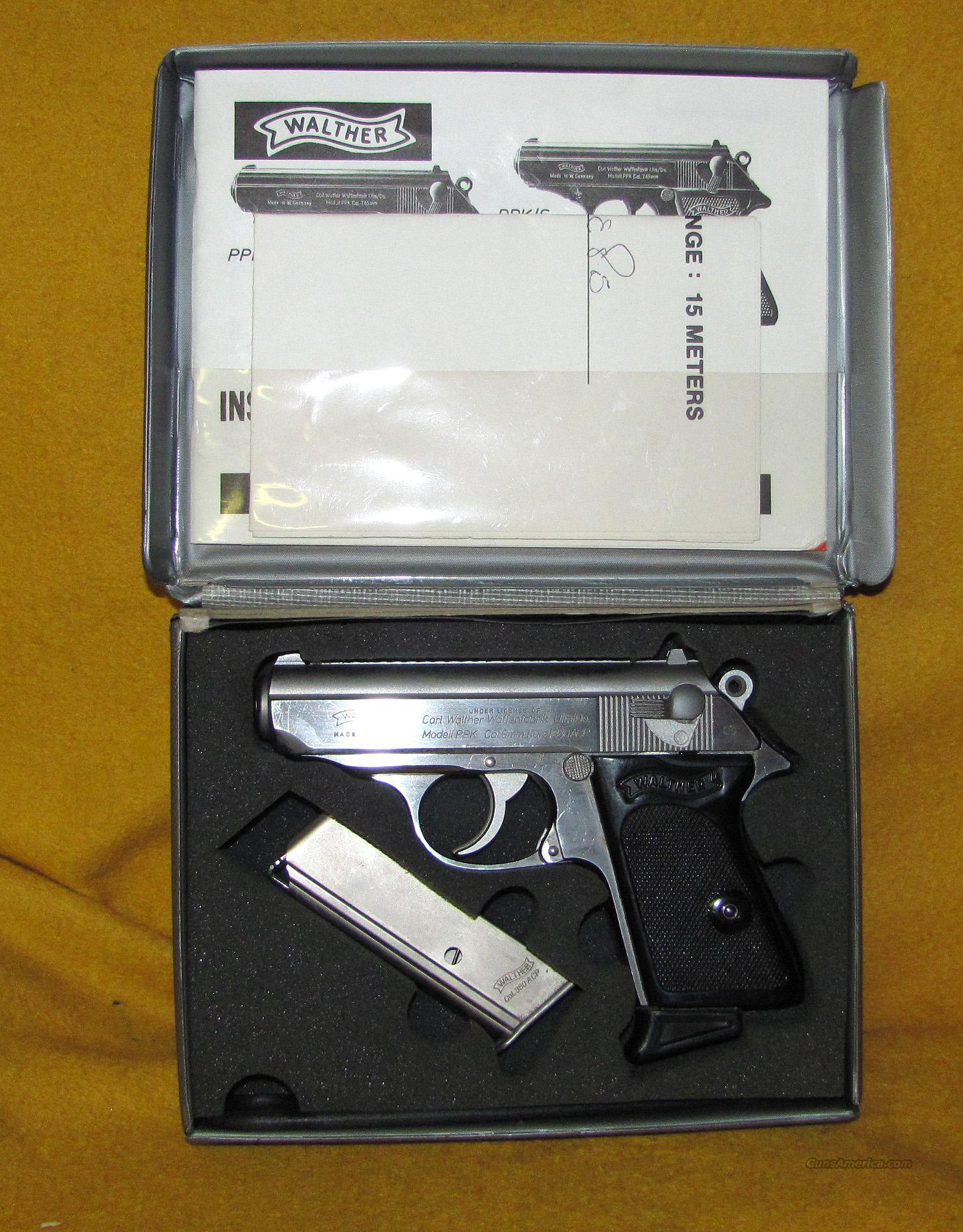 WALTHER PPK ( INTERARMS )  Guns > Pistols > Walther Pistols > Post WWII > PP Series