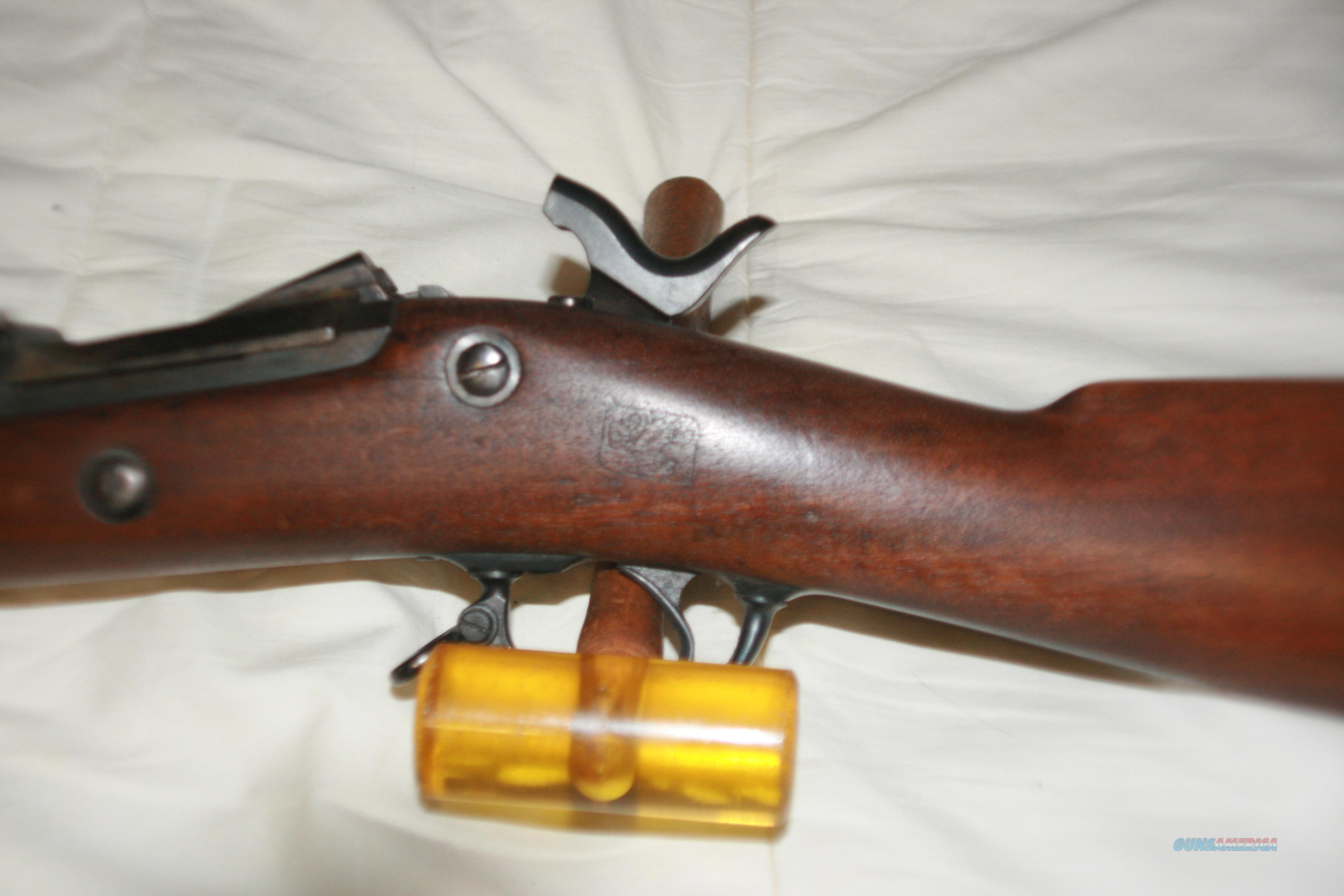 springfield trap-door rifle   Guns > Rifles > Antique (Pre-1899) Rifles - Ctg. Misc.