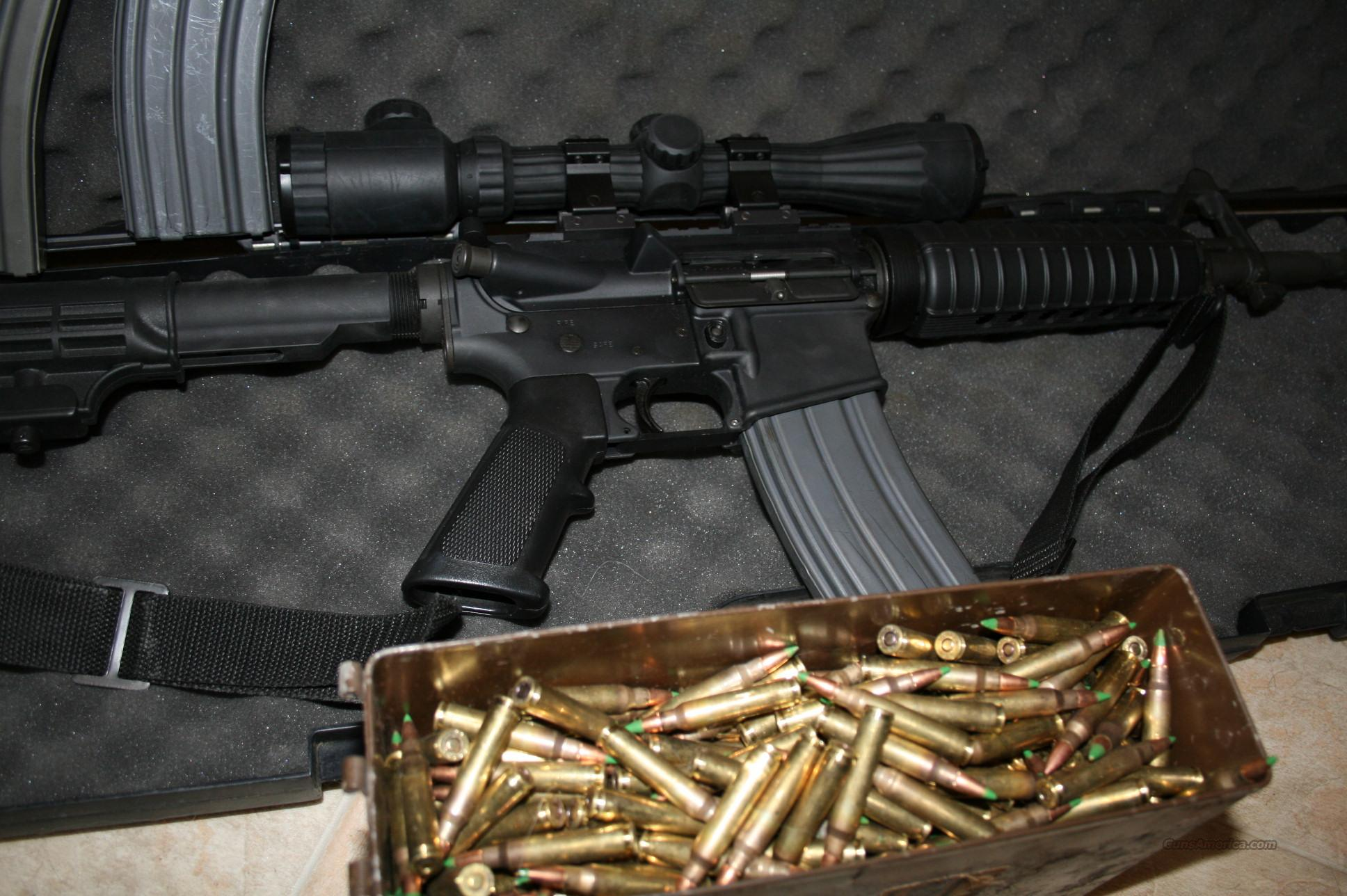 Bushmaster Custom Carbine, SS-109 Lake City, AP Ammo 500 rounds + extra's LOOK!!!  Guns > Rifles > Bushmaster Rifles > Complete Rifles