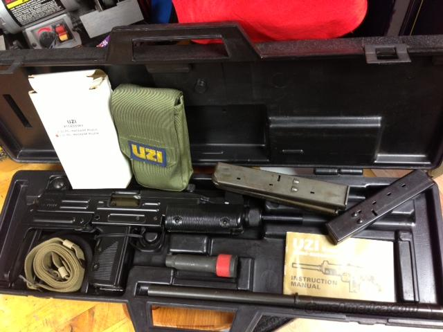 PREBAN IMI ACTION ARMS MODEL B UZI  Guns > Rifles > Military Misc. Rifles Non-US > Other