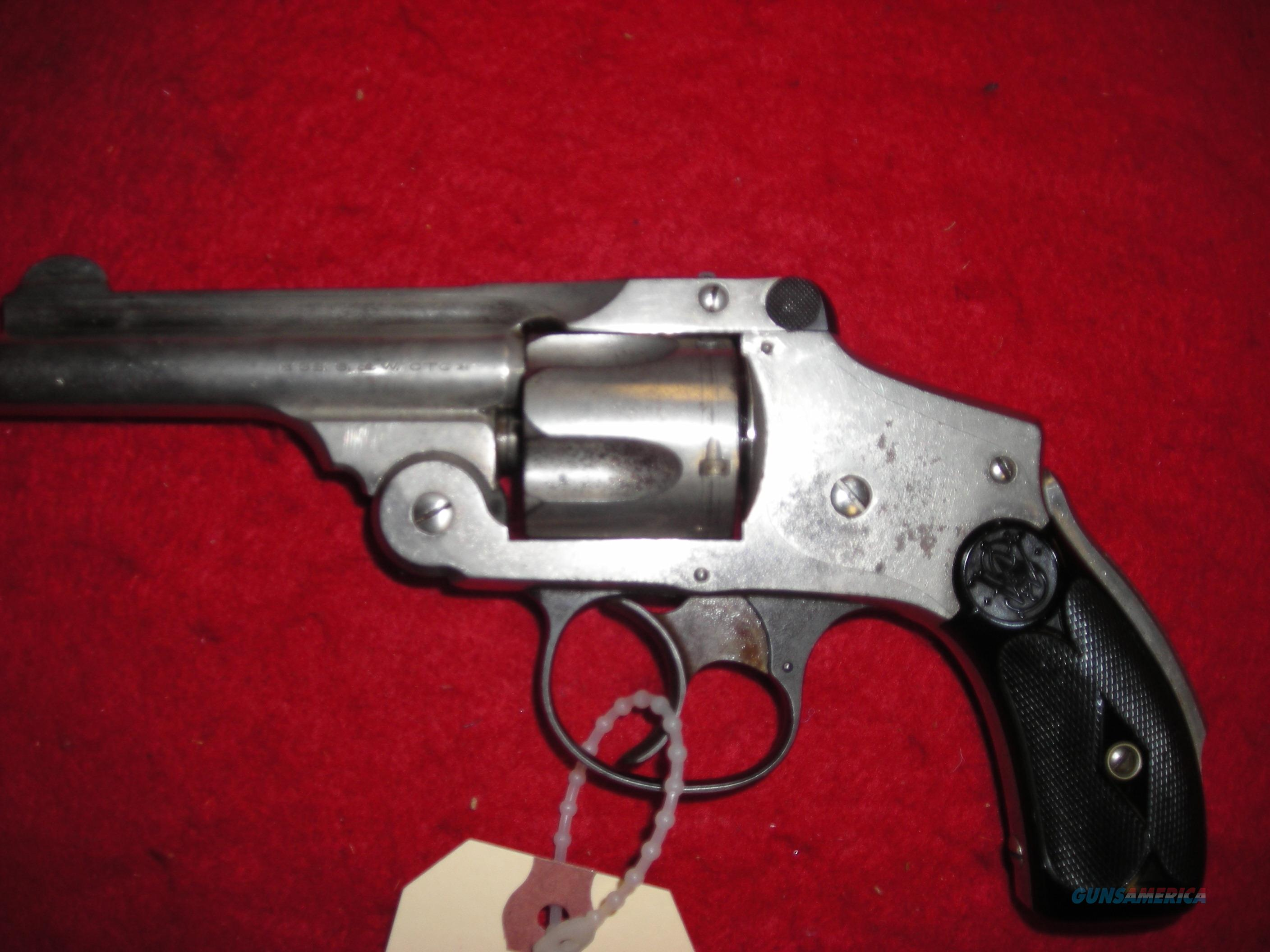 SMITH AND WESSON  CAL 38 S&W   Guns > Pistols > Smith & Wesson Revolvers > Pre-1945