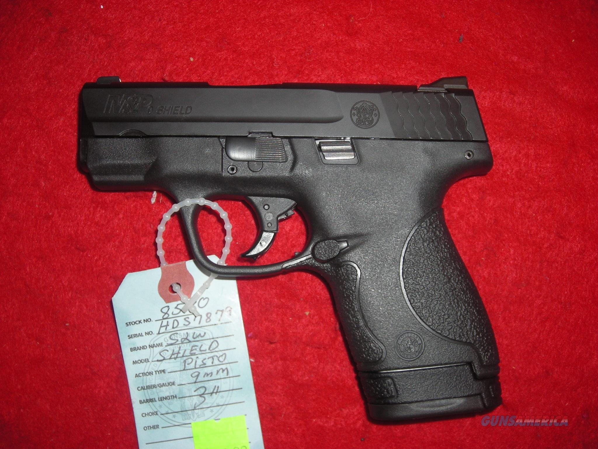 SMITH AND WESSON 9MM SHIELD   Guns > Pistols > Smith & Wesson Pistols - Autos > Shield