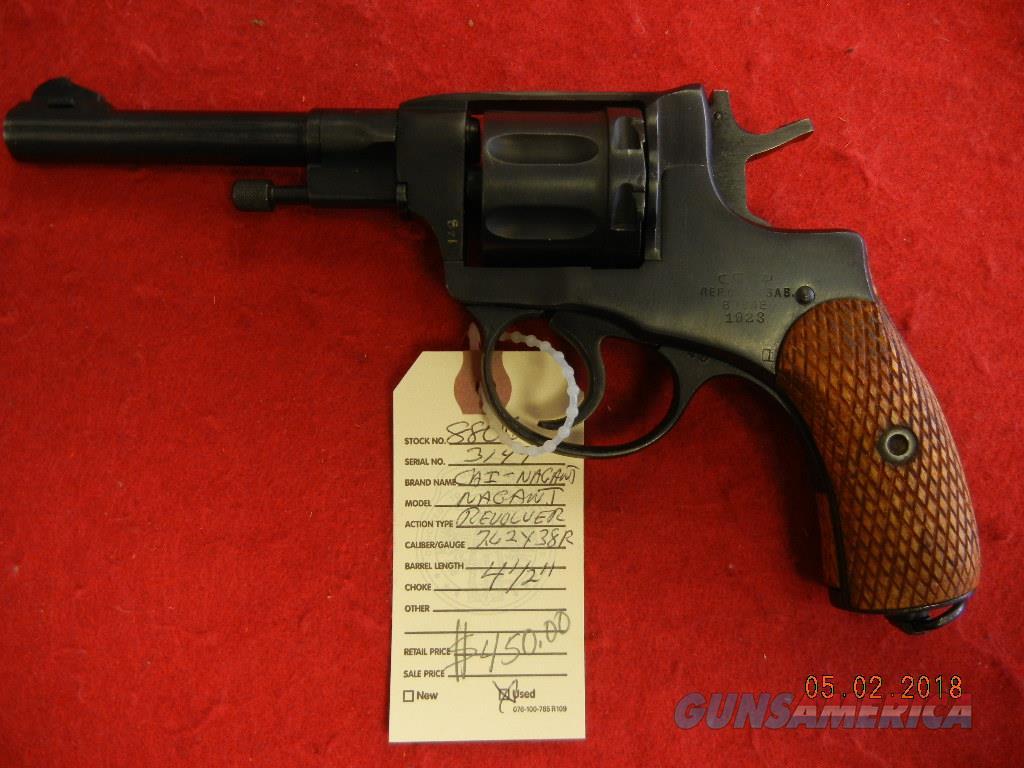 C.A.I. NAGANT 7.62X38R   Guns > Pistols > Military Misc. Pistols Non-US