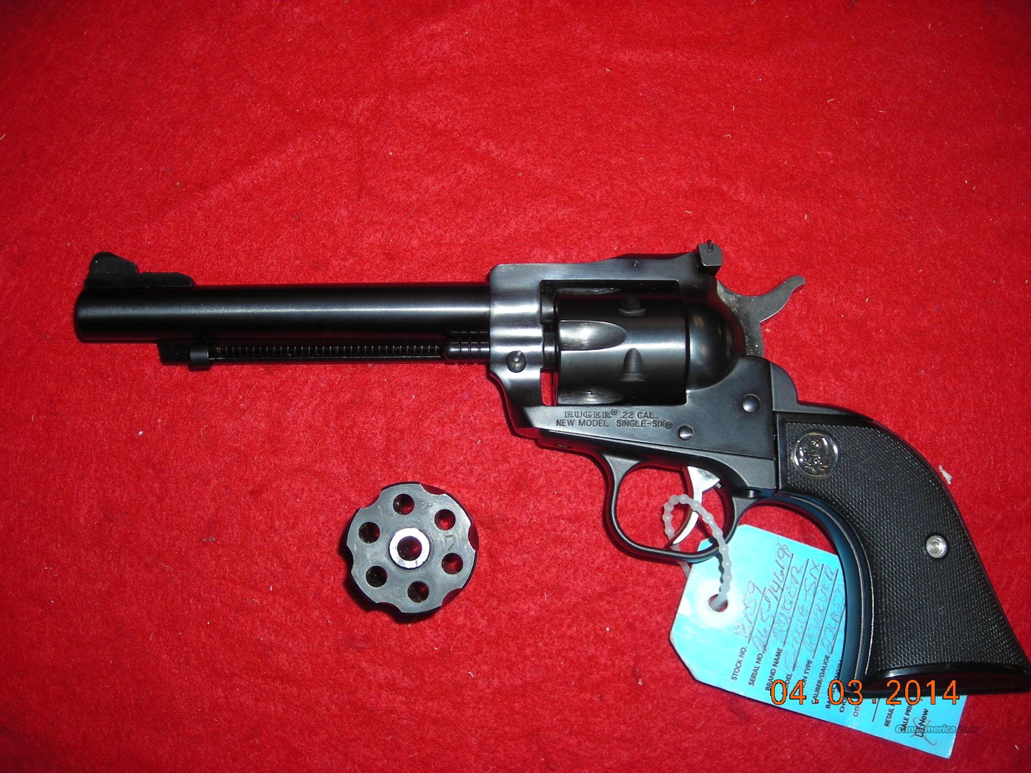 RUGER SINGLE SIX  22LR & 22MAG  Guns > Pistols > Ruger Single Action Revolvers > Single Six Type