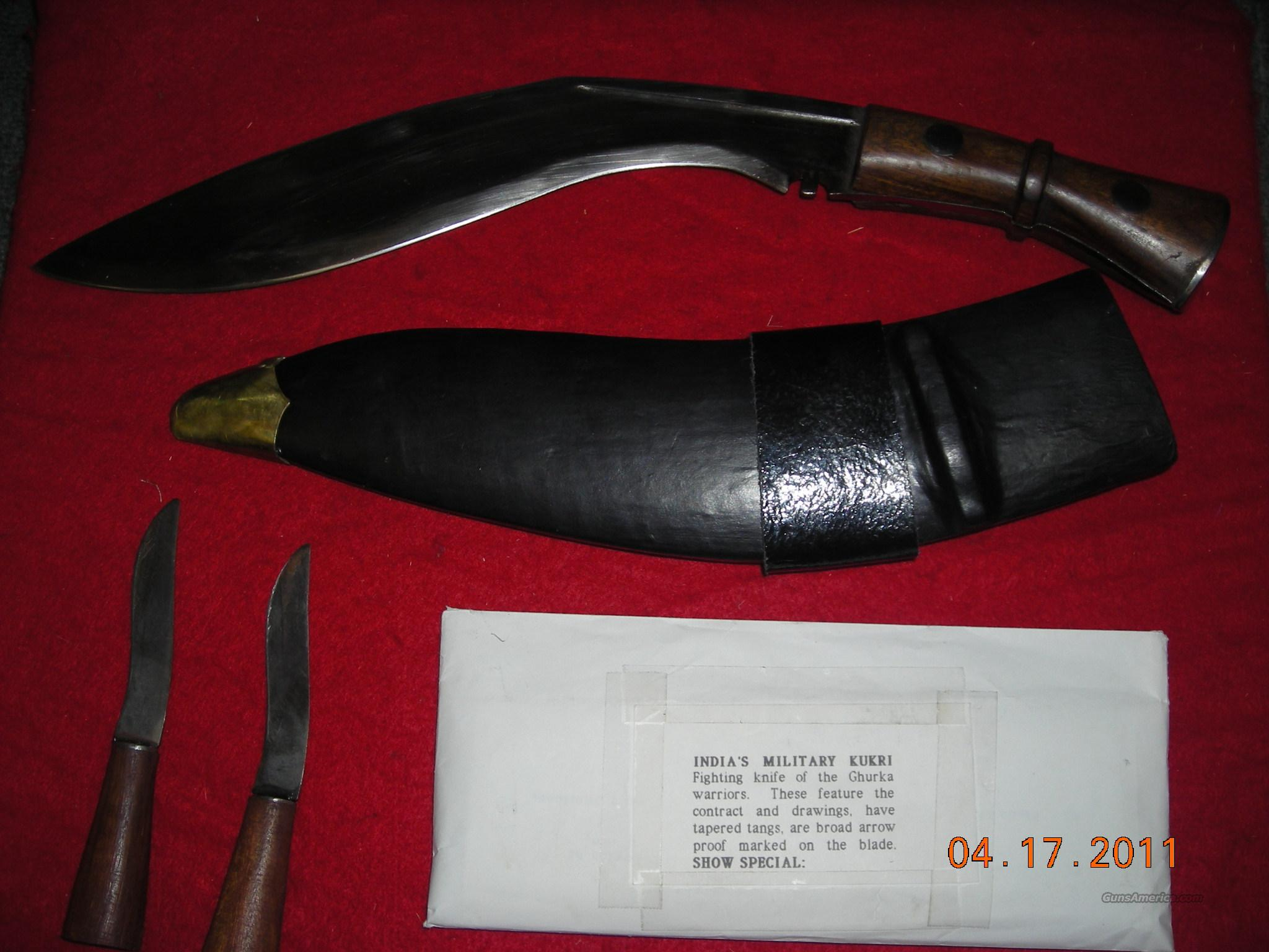 INDIA KUKRI  Non-Guns > Knives/Swords > Other Bladed Weapons > Other