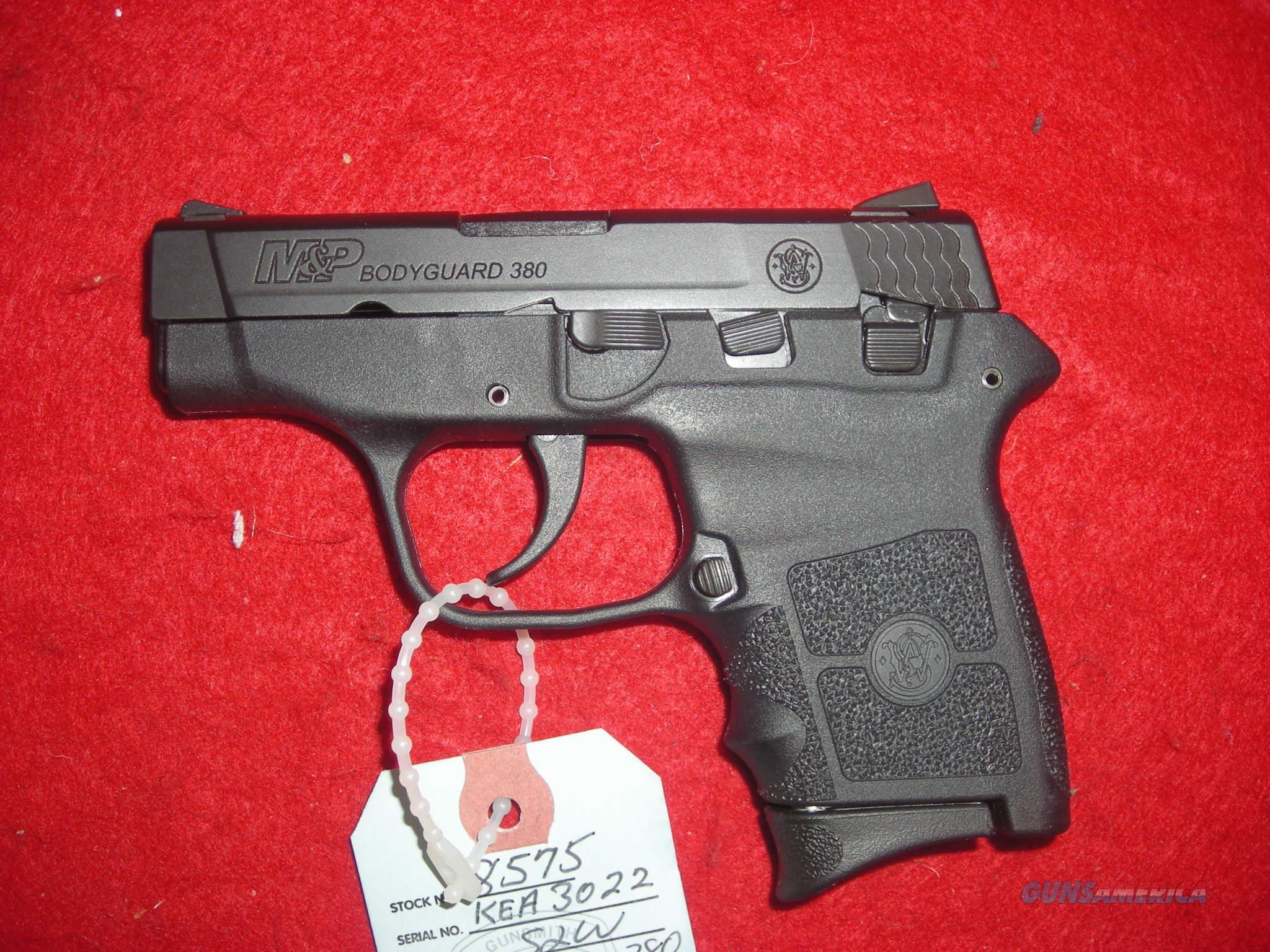 SMITH AND WESSON BODYGUARD 380 NO LASER  Guns > Pistols > Smith & Wesson Pistols - Autos > Polymer Frame